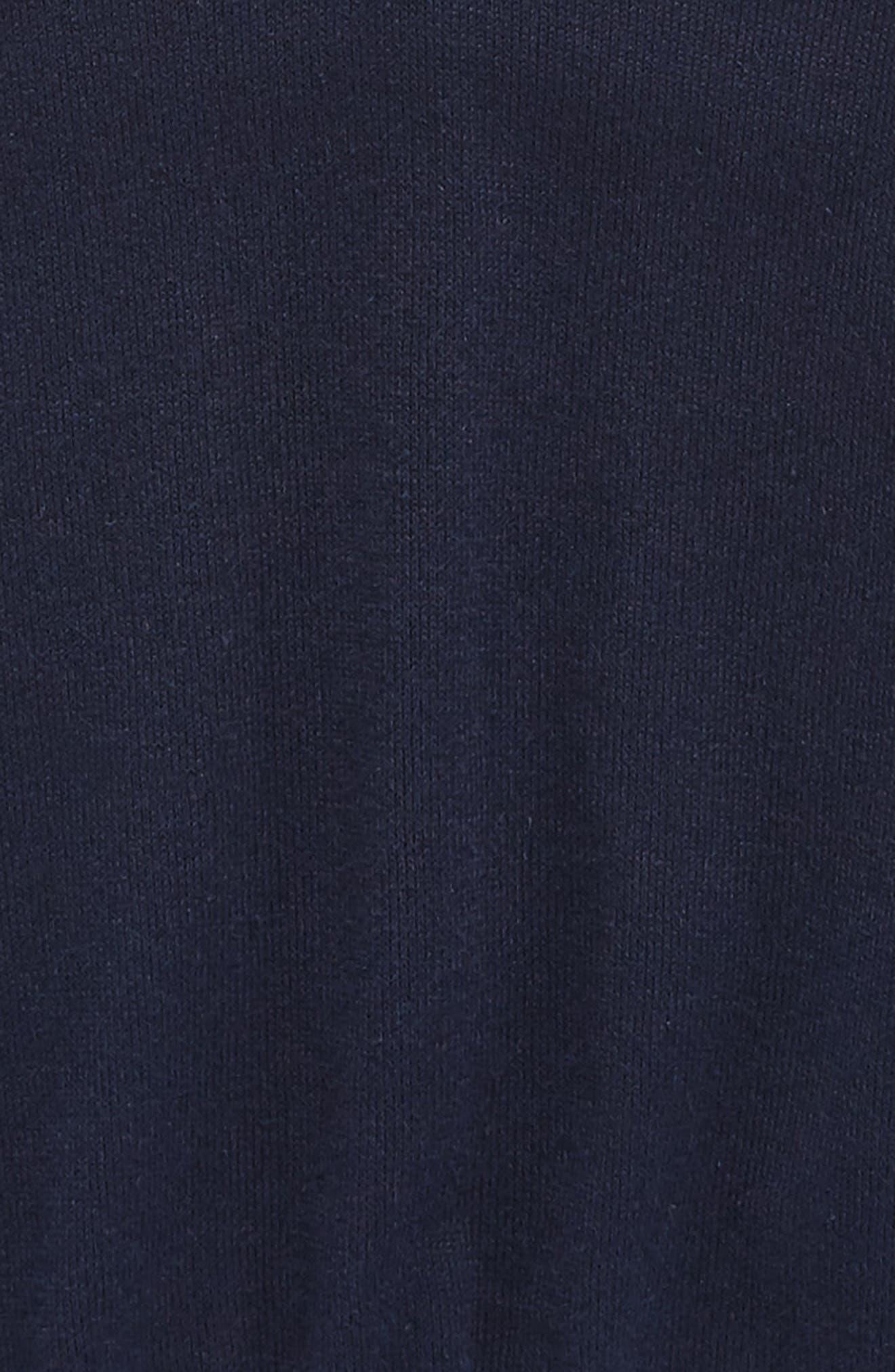 V-Neck Sweater,                             Alternate thumbnail 2, color,                             Solid Medium Blue