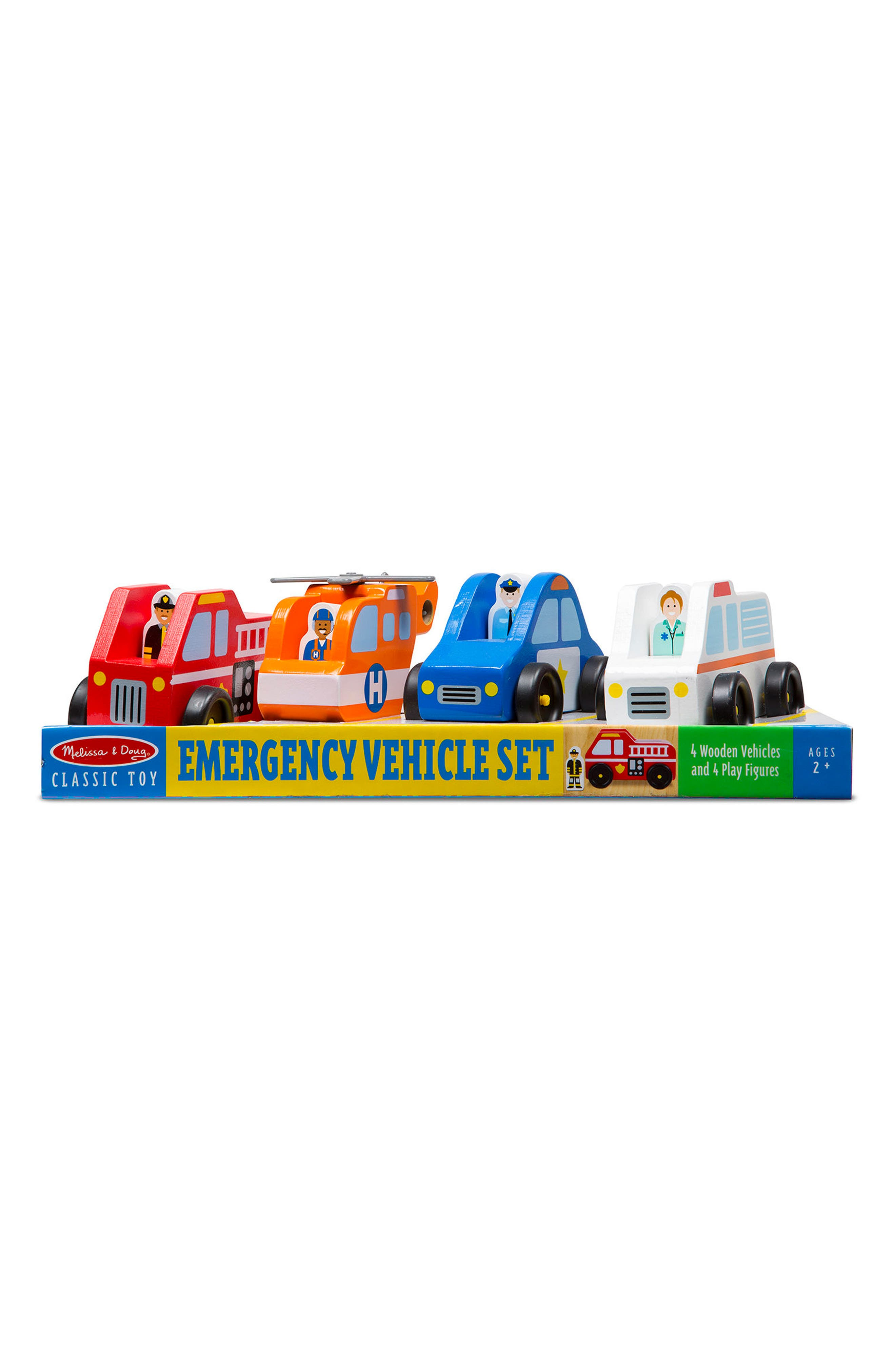 Emergency Vehicles Set,                             Alternate thumbnail 2, color,                             Red