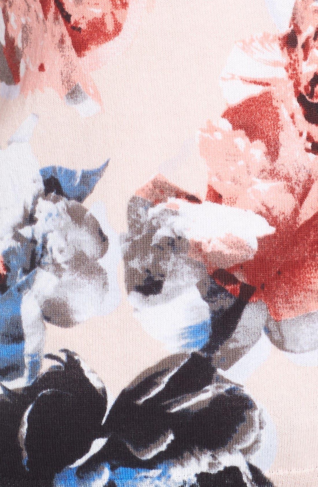 Alternate Image 5  - CeCe Bouquet Dream Cardigan
