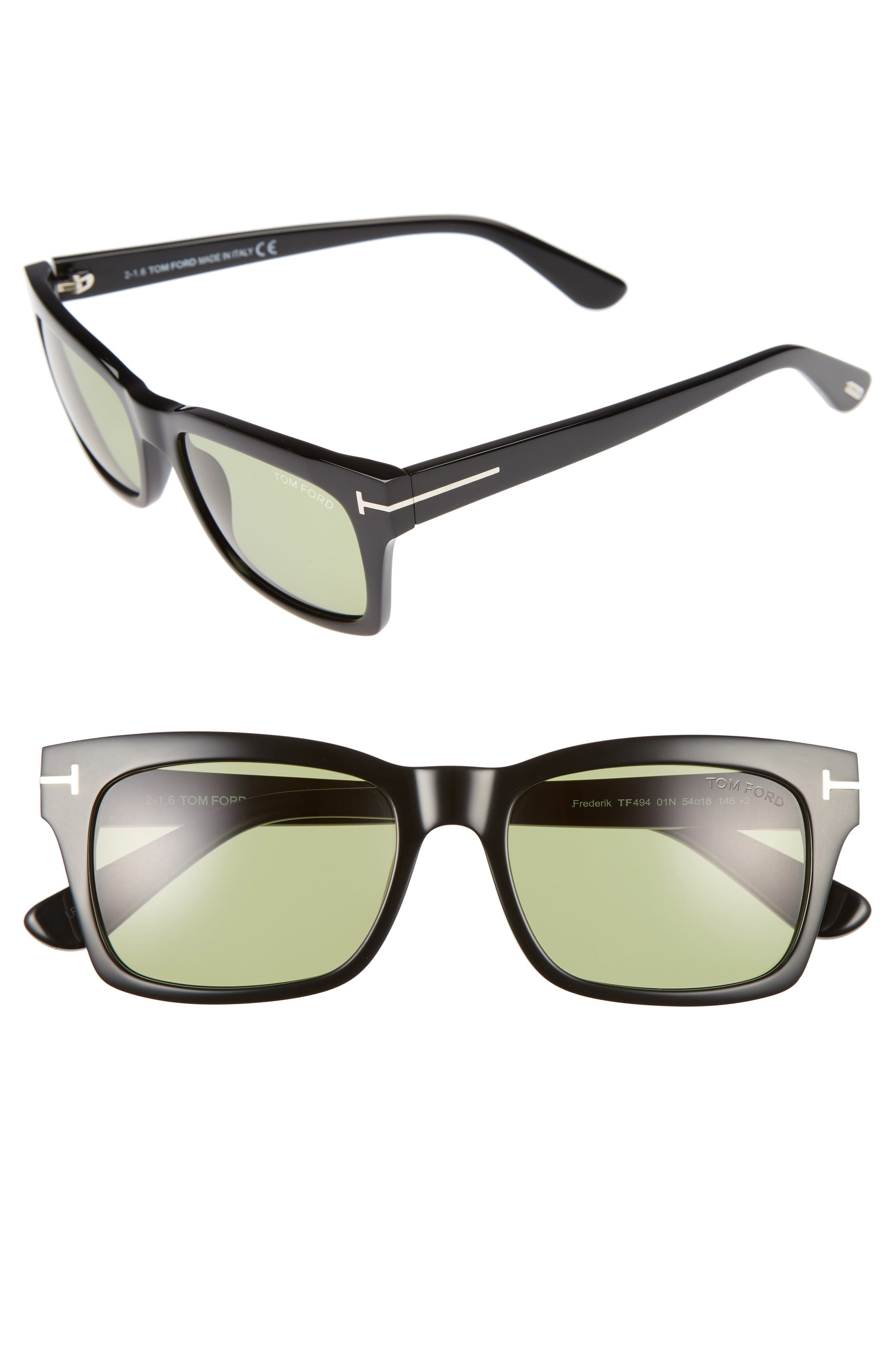 Tom Ford Frederick 54mm Sunglasses