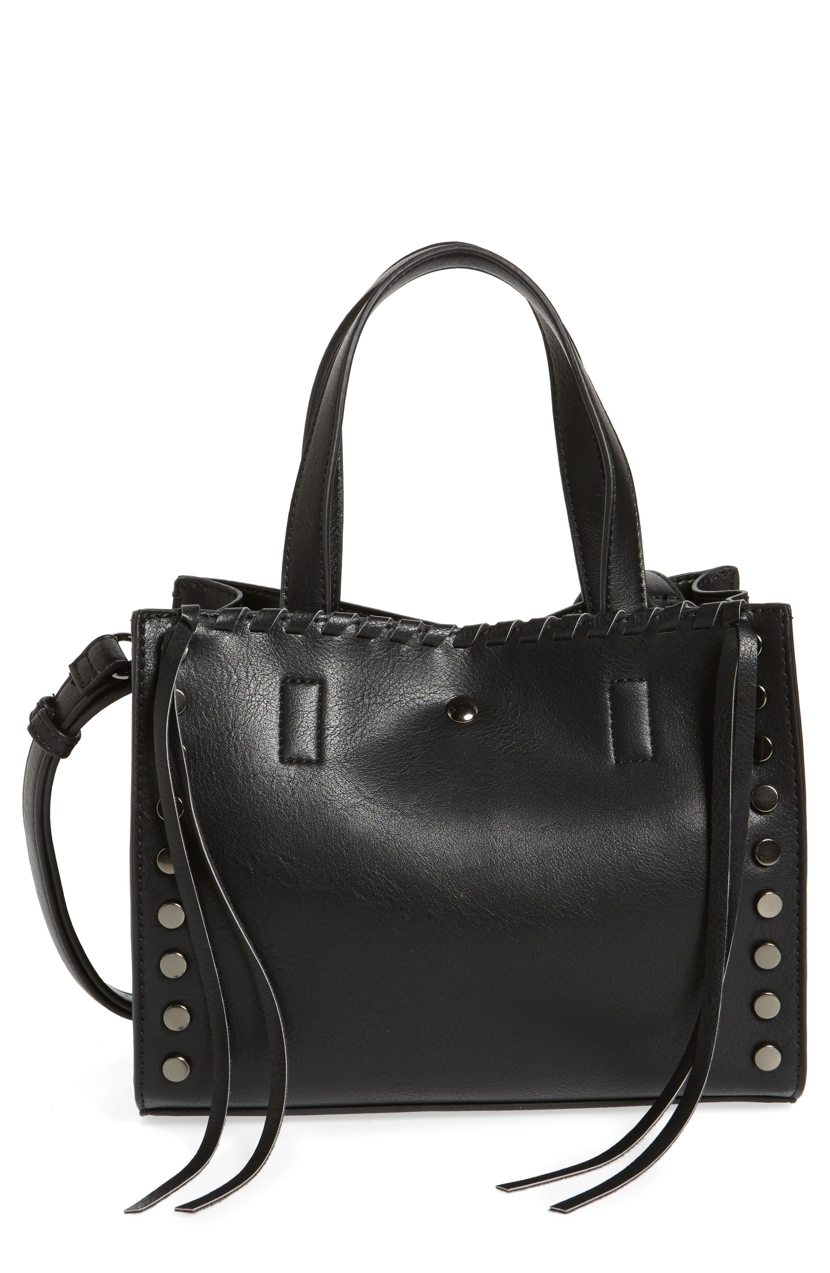 Alternate Image 1 Selected - BP. Studded Faux Leather Crossbody Bag
