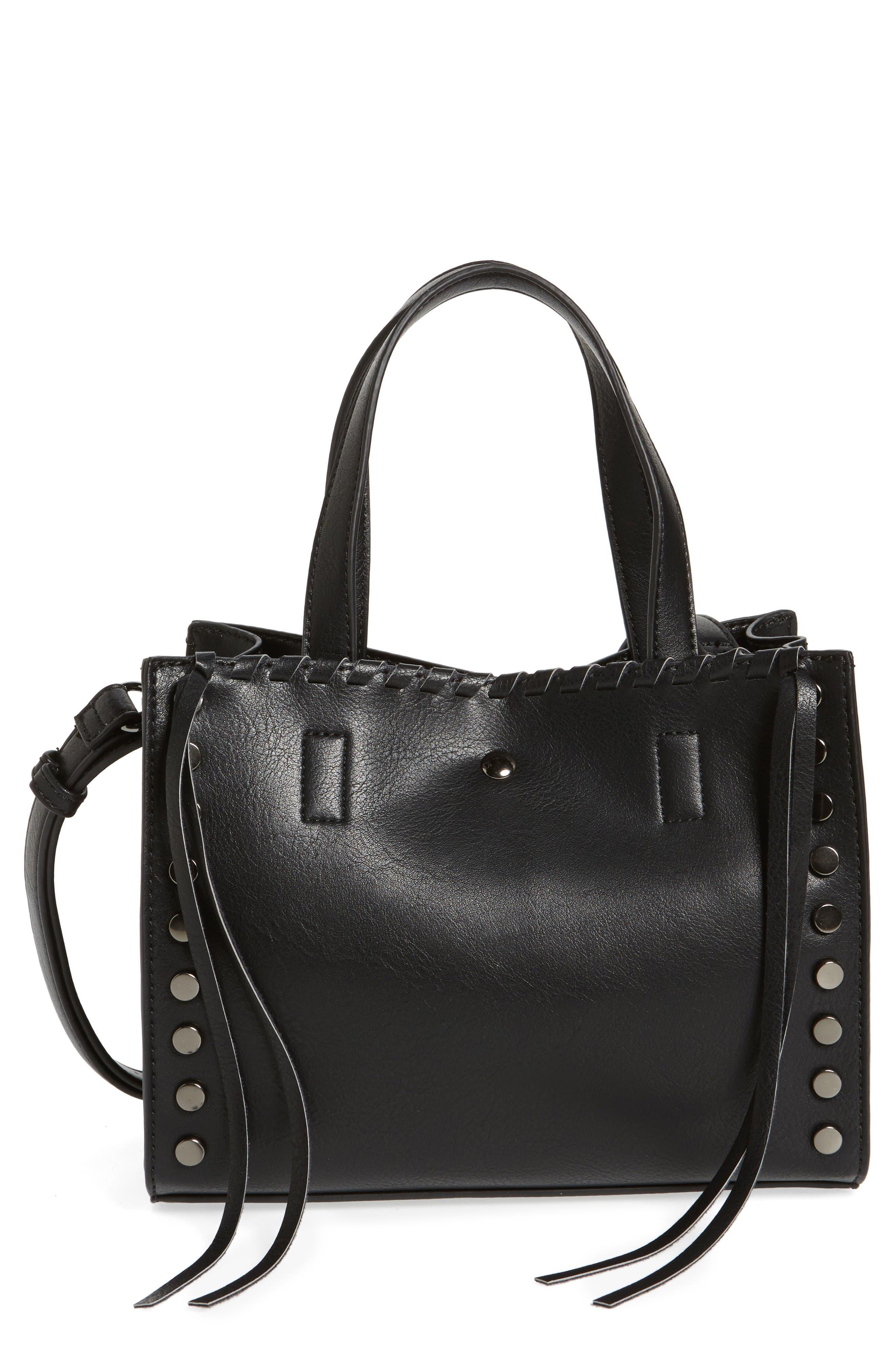 Main Image - BP. Studded Faux Leather Crossbody Bag