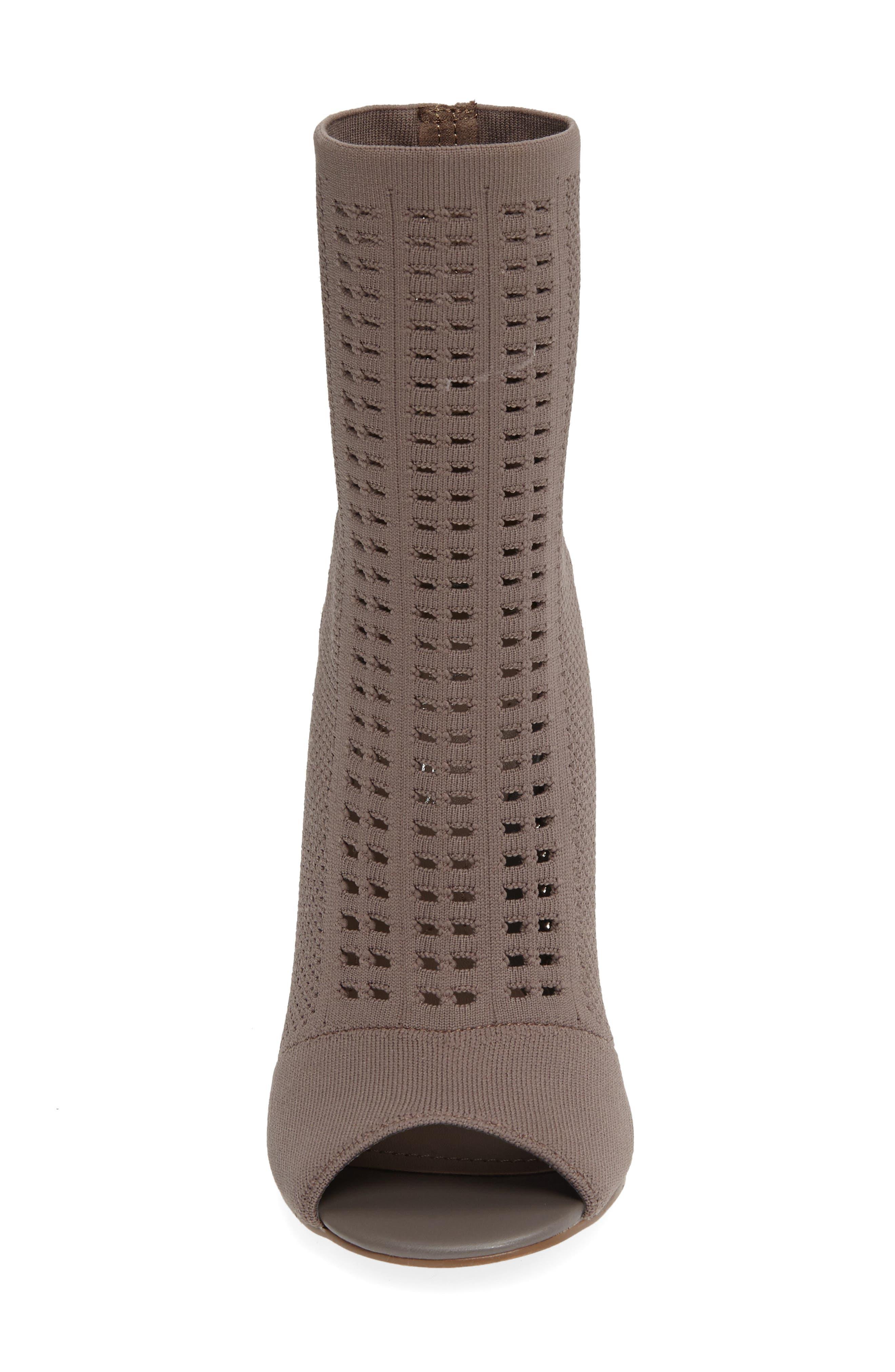 Alternate Image 3  - Charles by Charles David Rebellious Knit Peep Toe Bootie (Women)