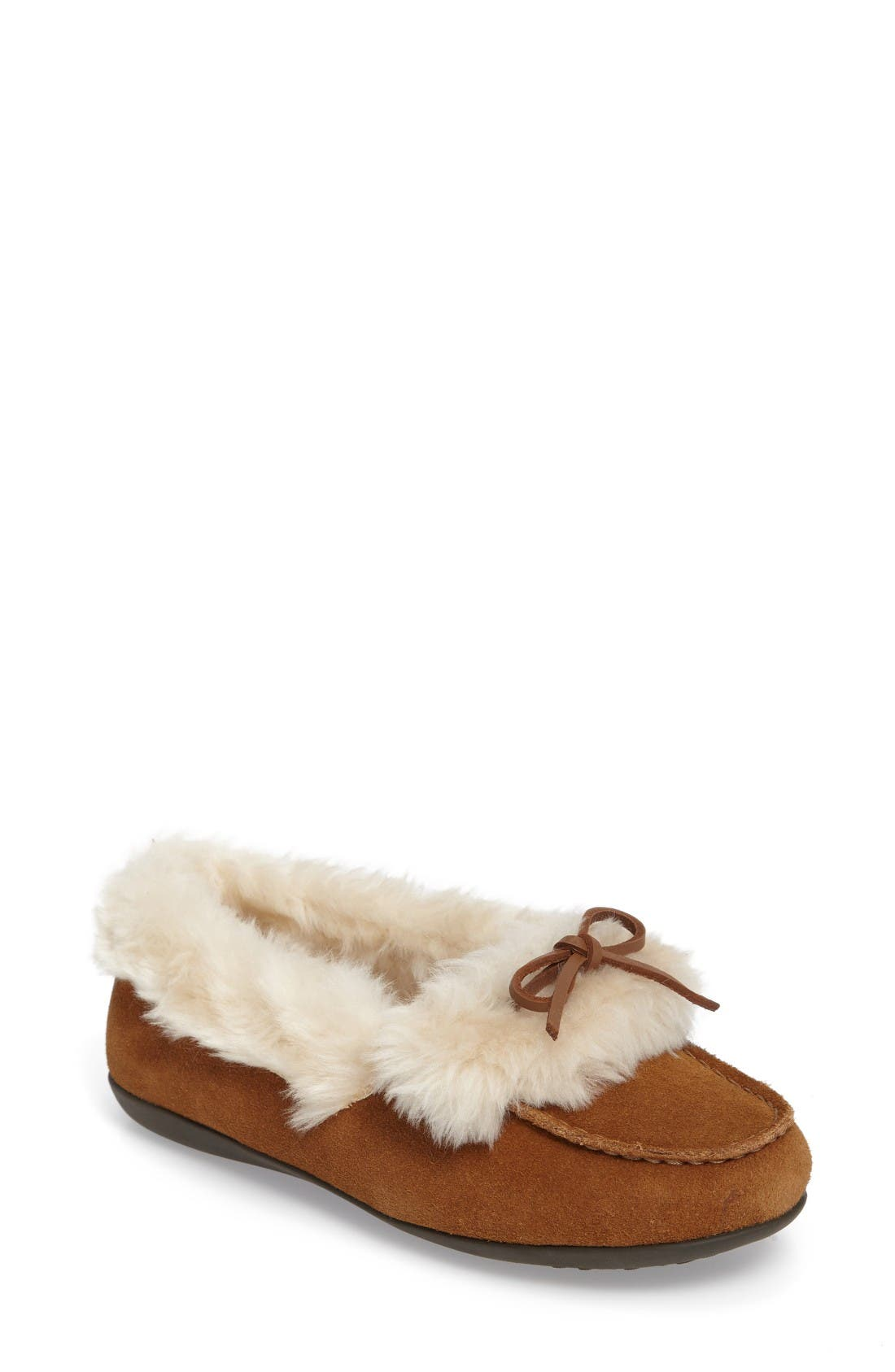 Vionic Juniper Faux Fur Slipper (Women)