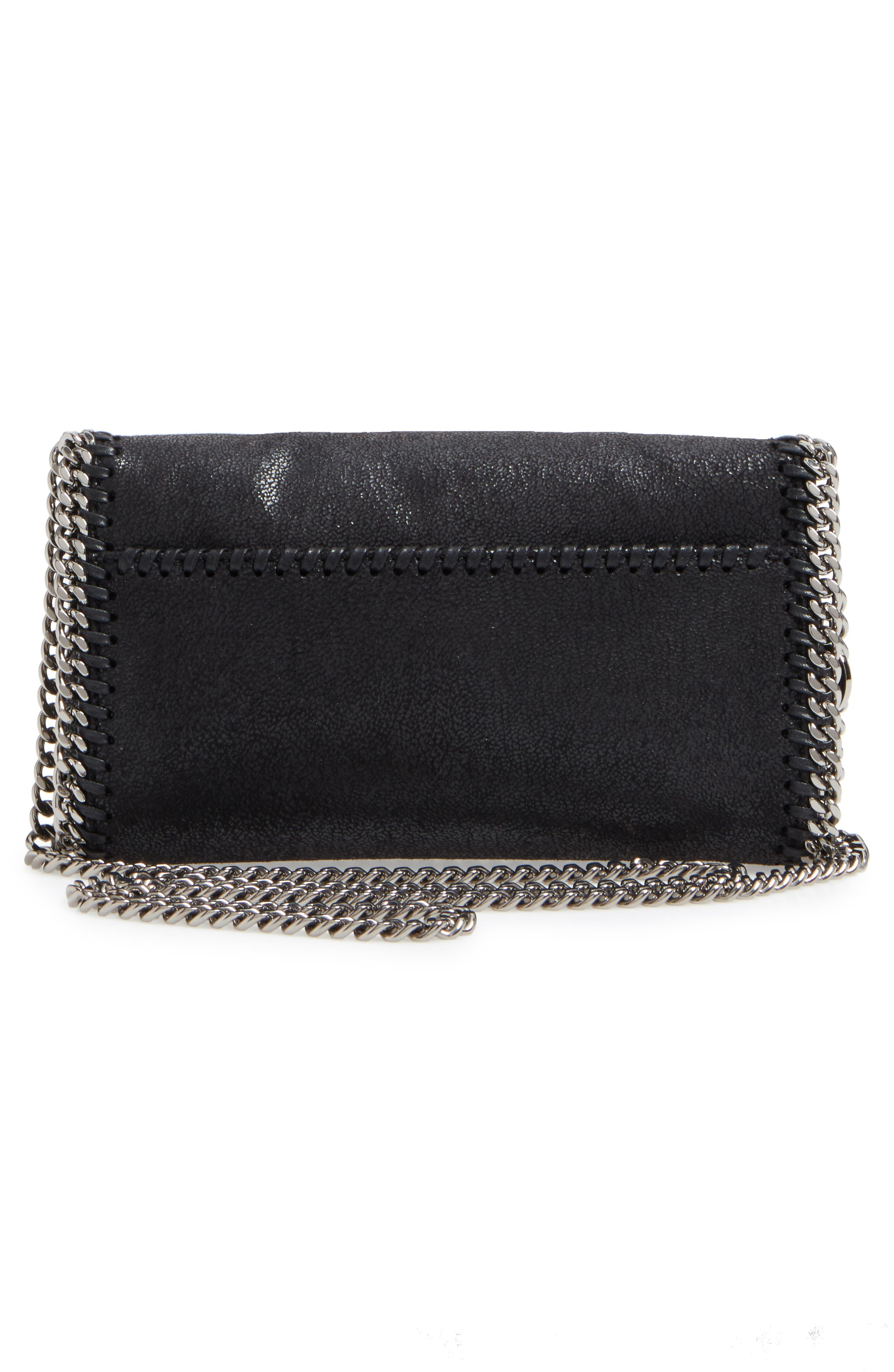 Alternate Image 3  - Stella McCartney Small Fallabella Crystal Faux Leather Crossbody Bag