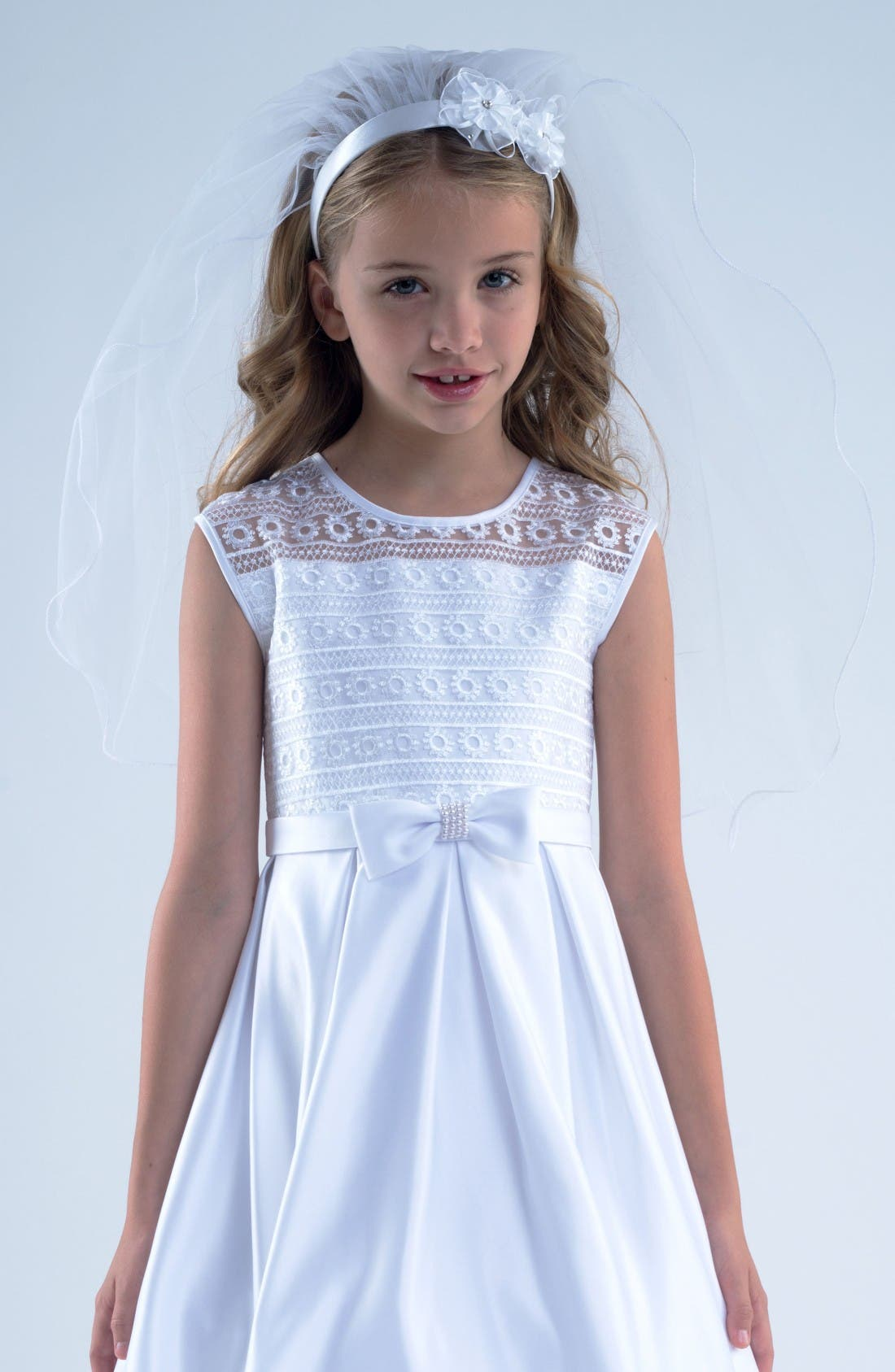 Us Angels Communion Headband with Veil