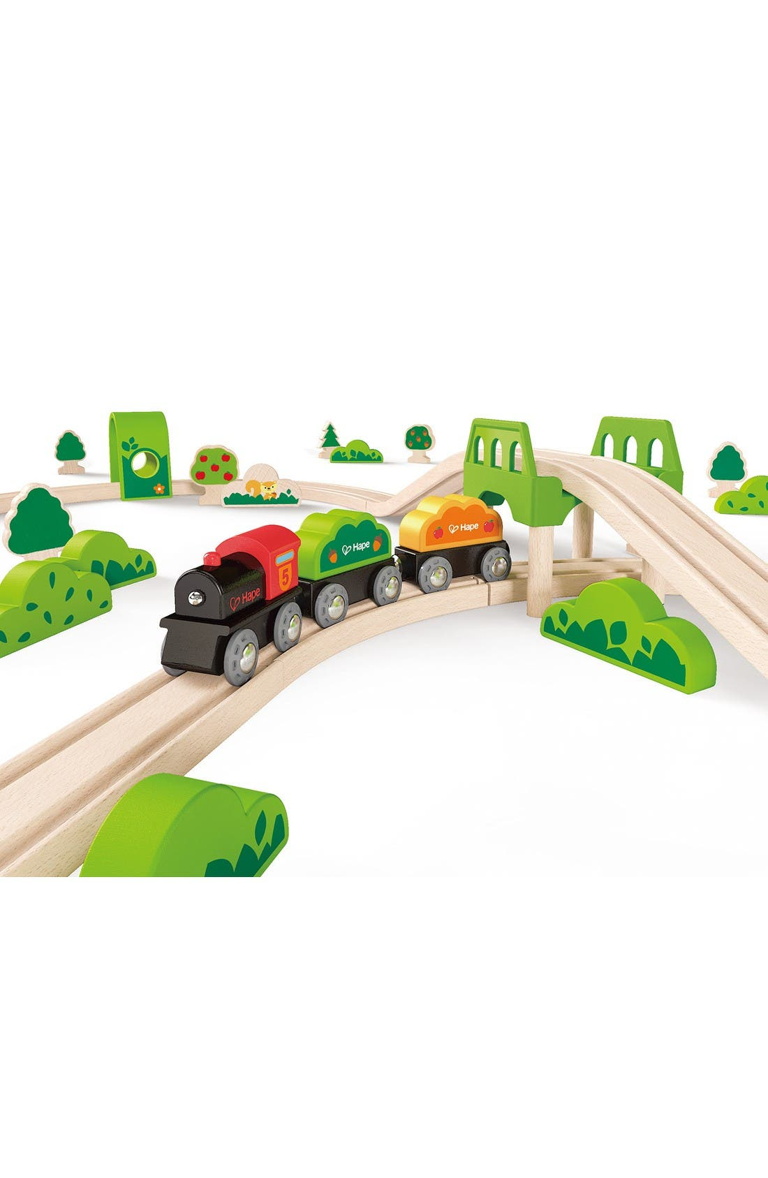 Alternate Image 4  - Hape Forest Railway Wooden Train Set