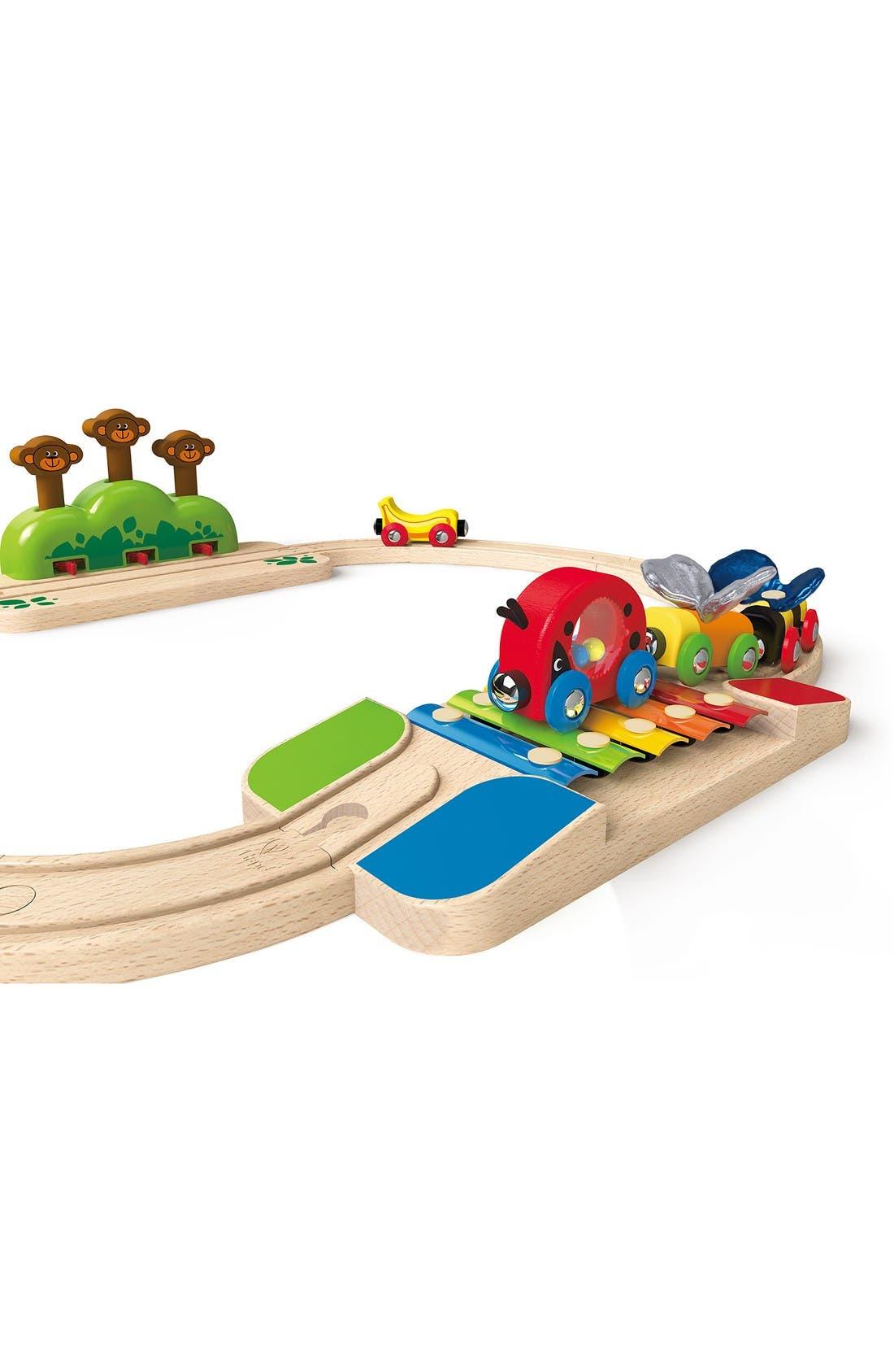 My Little Railway Wooden Train Set,                             Alternate thumbnail 3, color,                             Multi