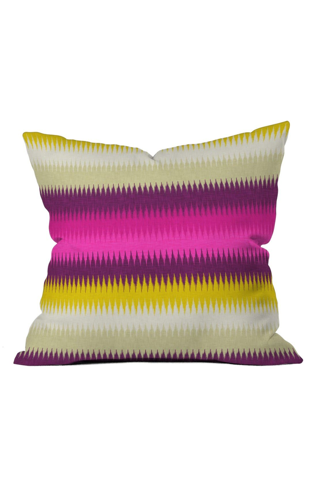 Alternate Image 1 Selected - Deny Designs Bright Stripe Pillow
