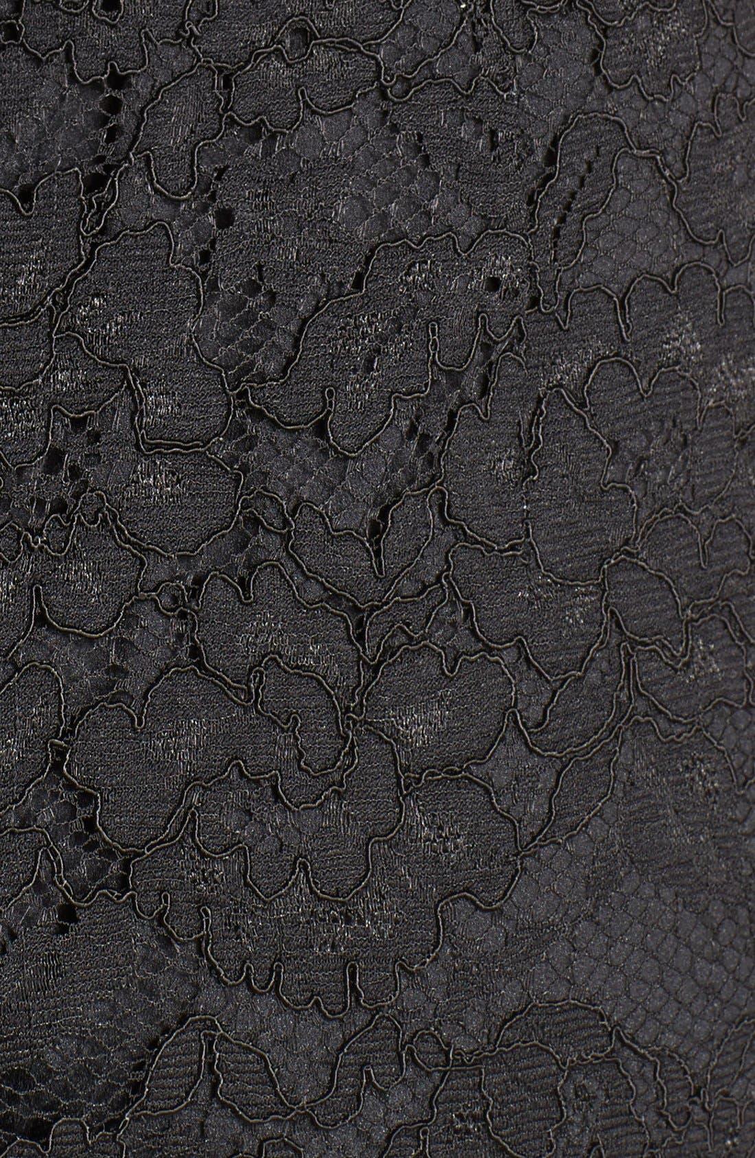 Alternate Image 4  - Elliatt 'Instinct' Floral Appliqué Lace Shift Dress