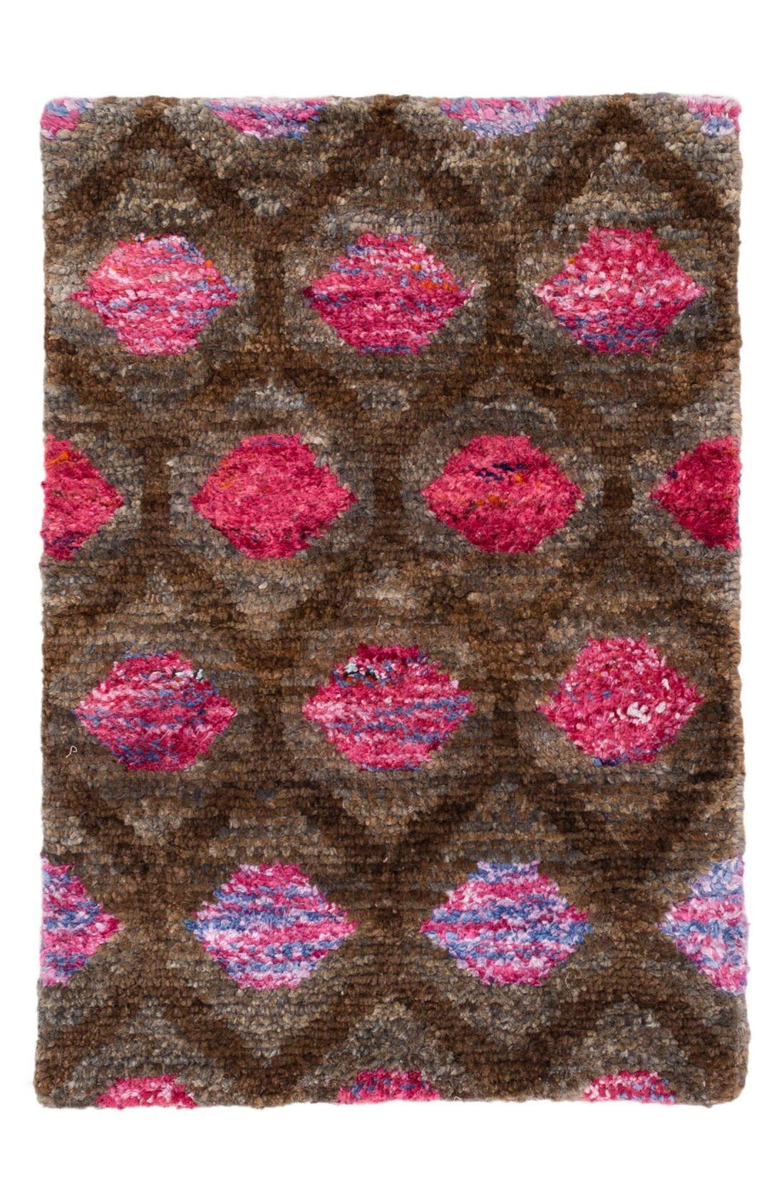 Gem Rug,                             Main thumbnail 1, color,                             Brown