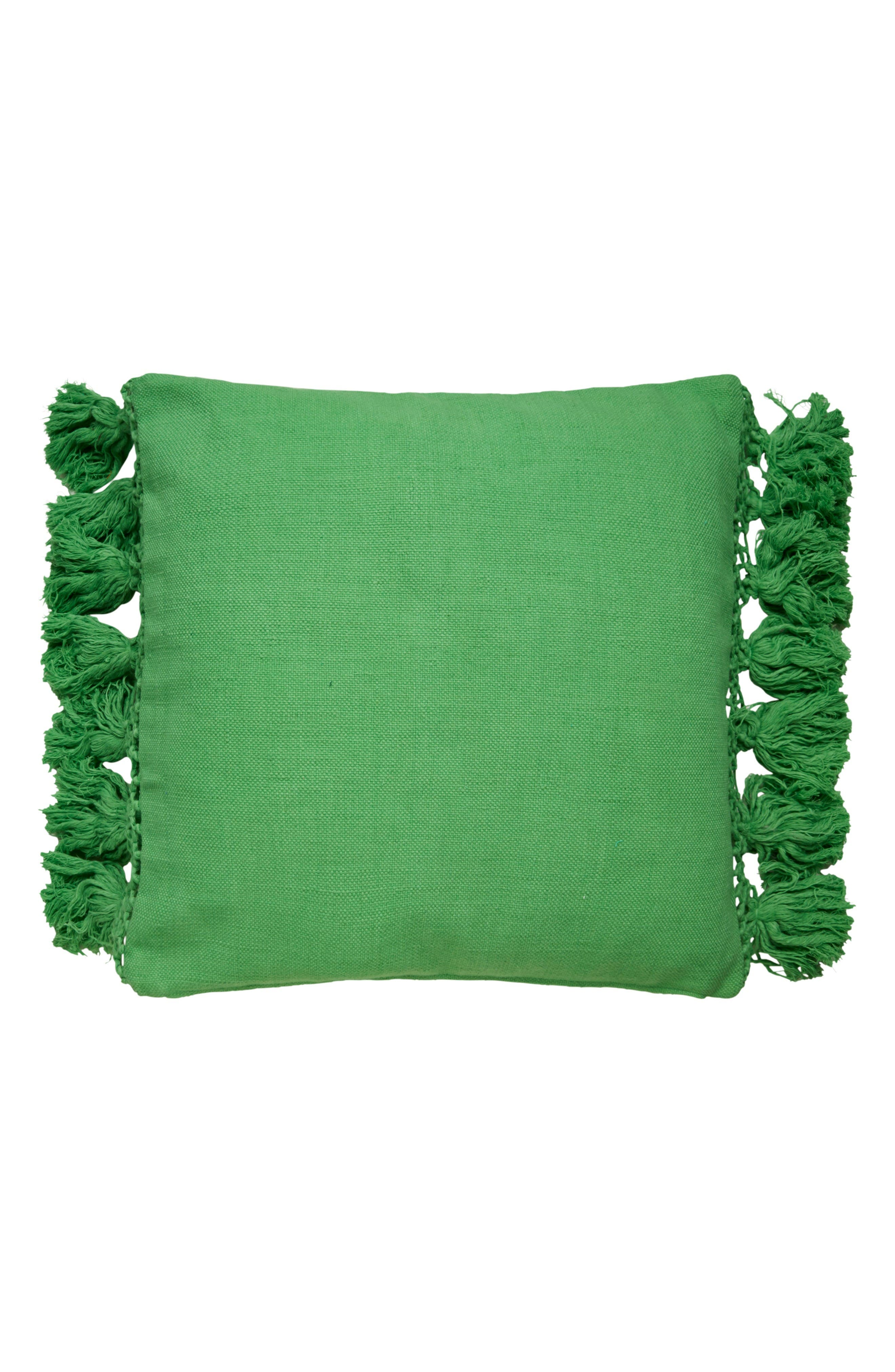 Alternate Image 1 Selected - kate spade new york tassel accent pillow