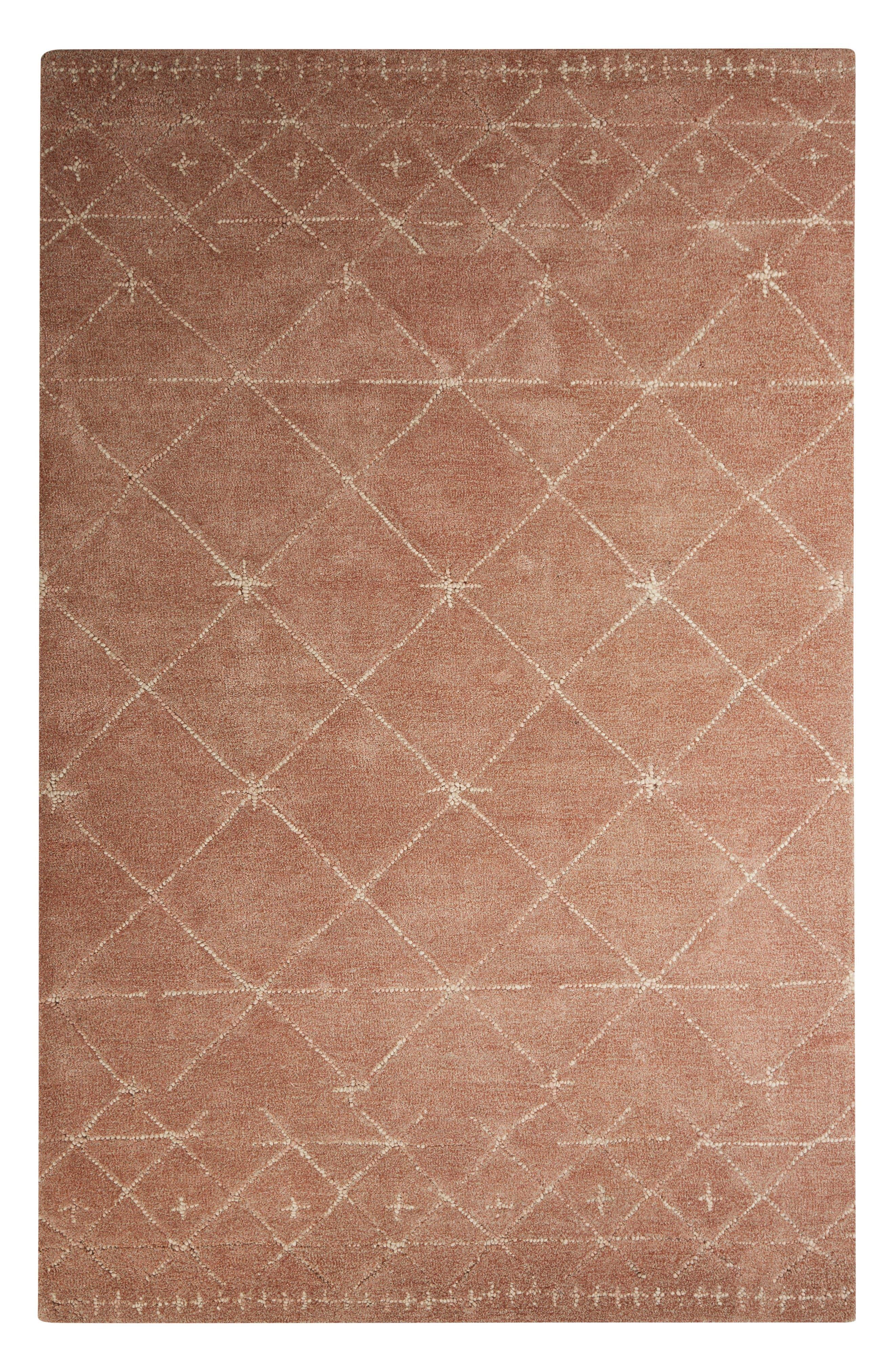 Vintage Blush Rug,                         Main,                         color, Natural