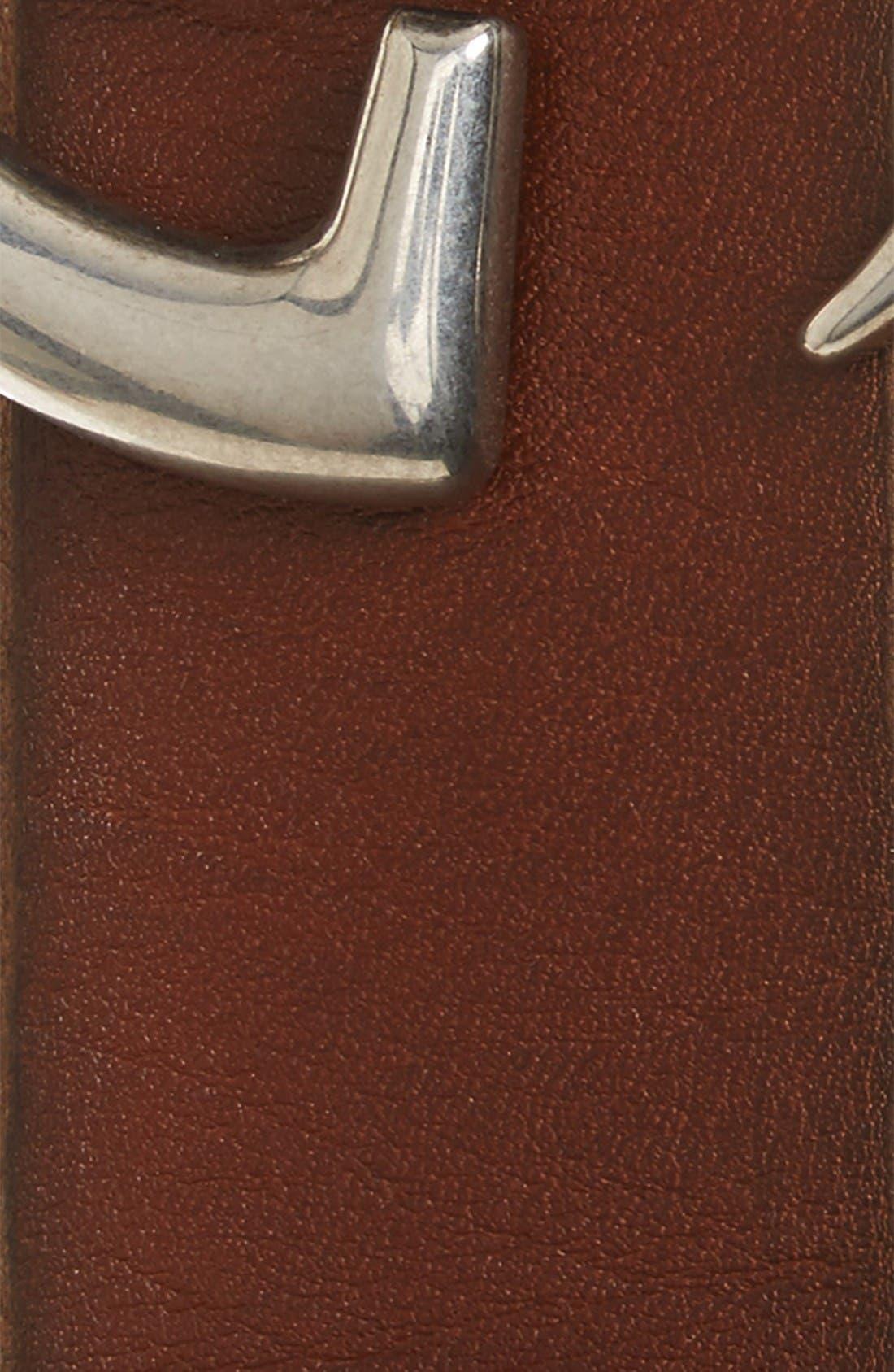 Alternate Image 2  - Gucci Distressed Leather Belt