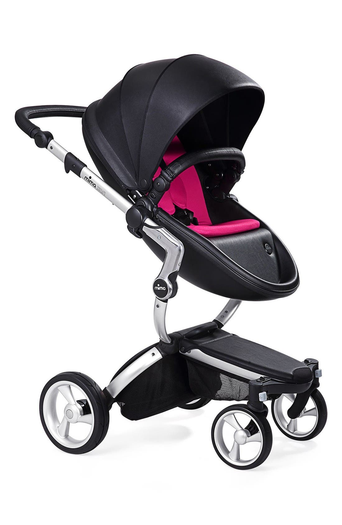 Mima Xari Aluminum Chassis Stroller with Reversible Reclining Seat & Carrycot