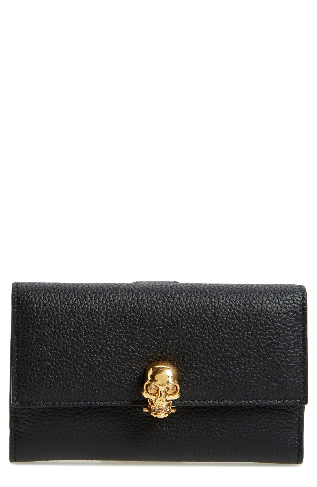 Alexander McQueen Leather French Wallet