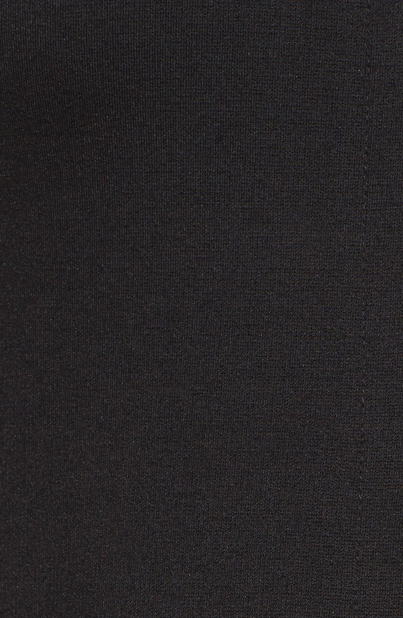 Alternate Image 6  - Eliza J Colorblock Hem Fit & Flare Dress (Regular & Petite)