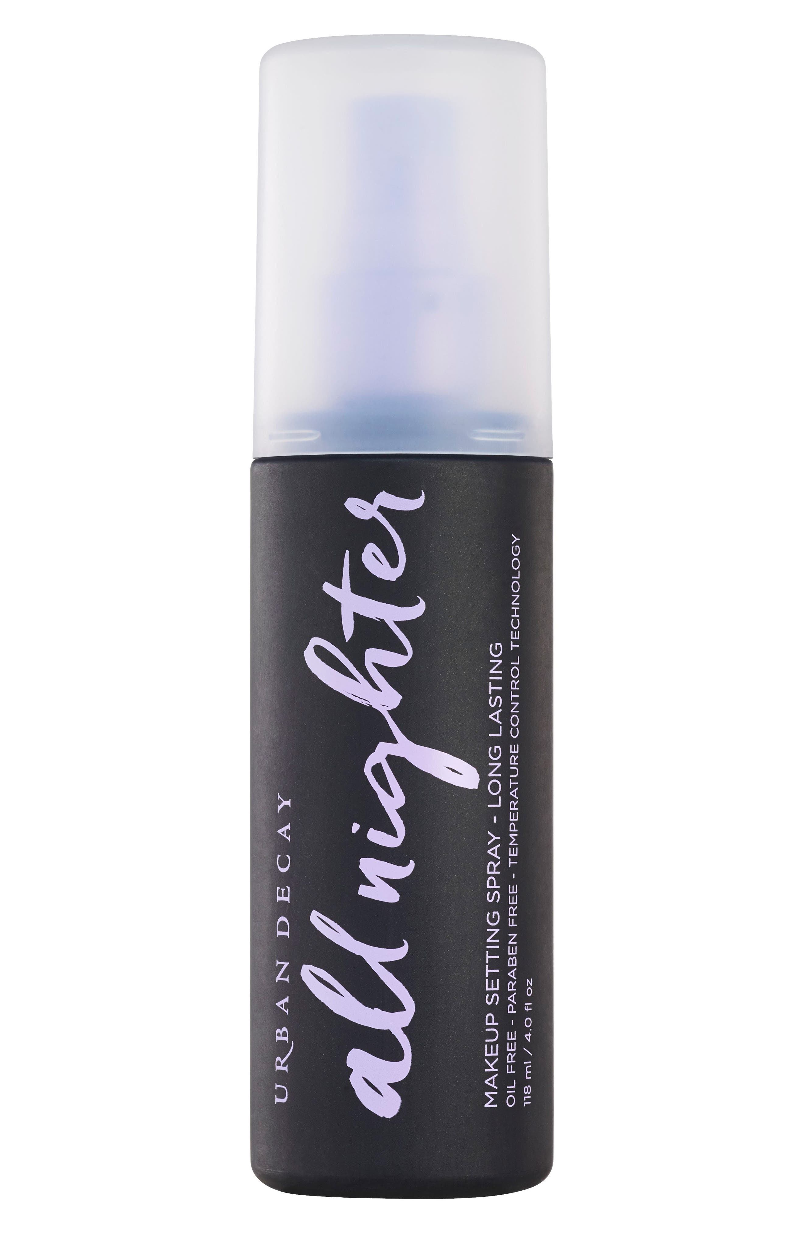 All Nighter Long-Lasting Makeup Setting Spray,                         Main,                         color, No Color