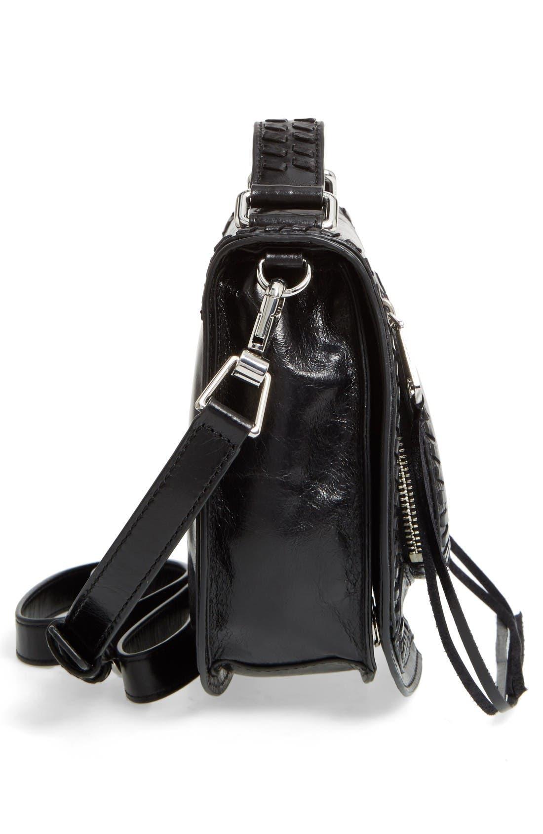 Alternate Image 5  - Rebecca Minkoff Small Vanity Leather Saddle Bag
