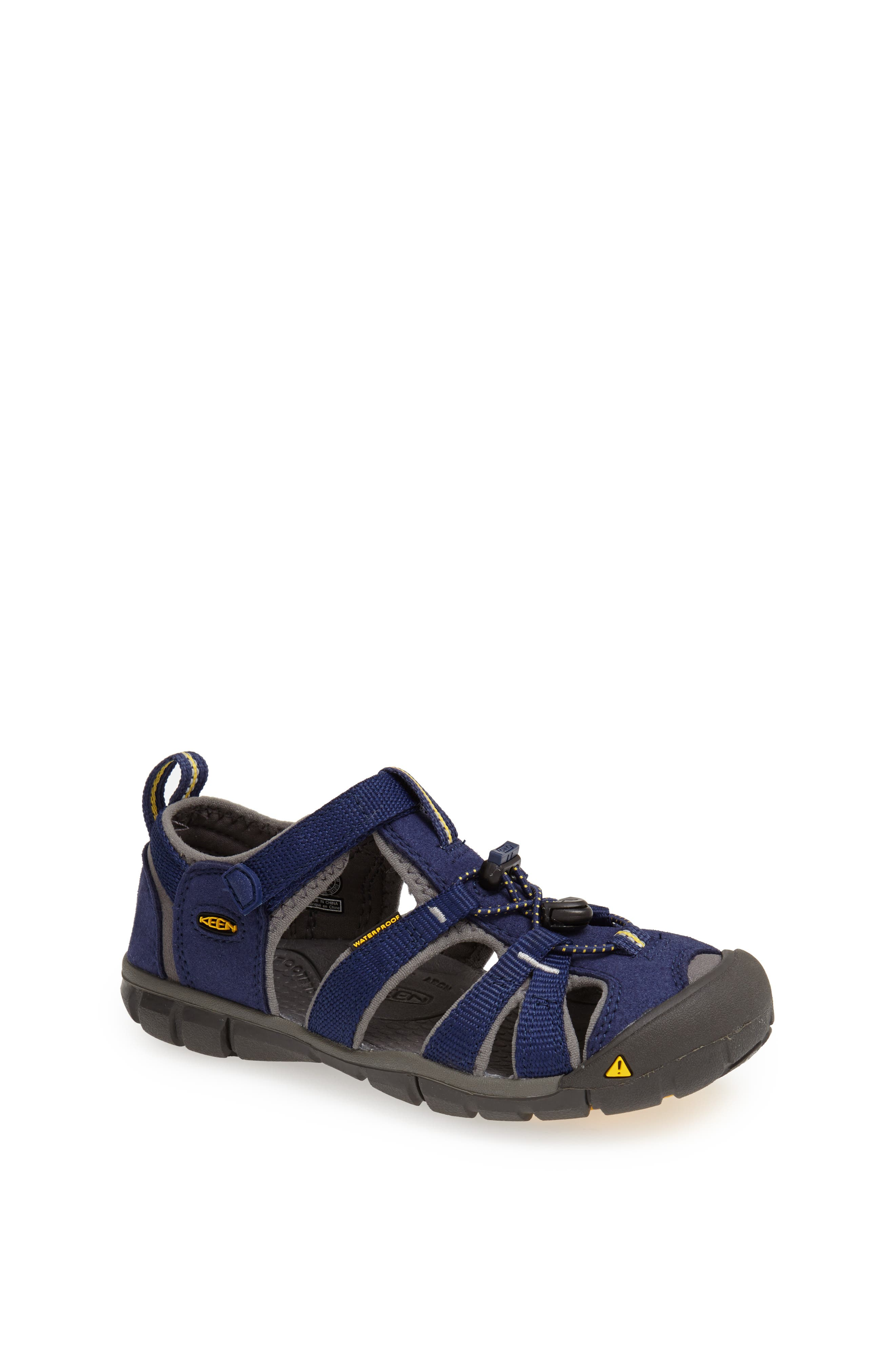 Keen 'Seacamp II' Water Friendly Sandal (Baby, Walker, Toddler, Little Kid & Big Kid)