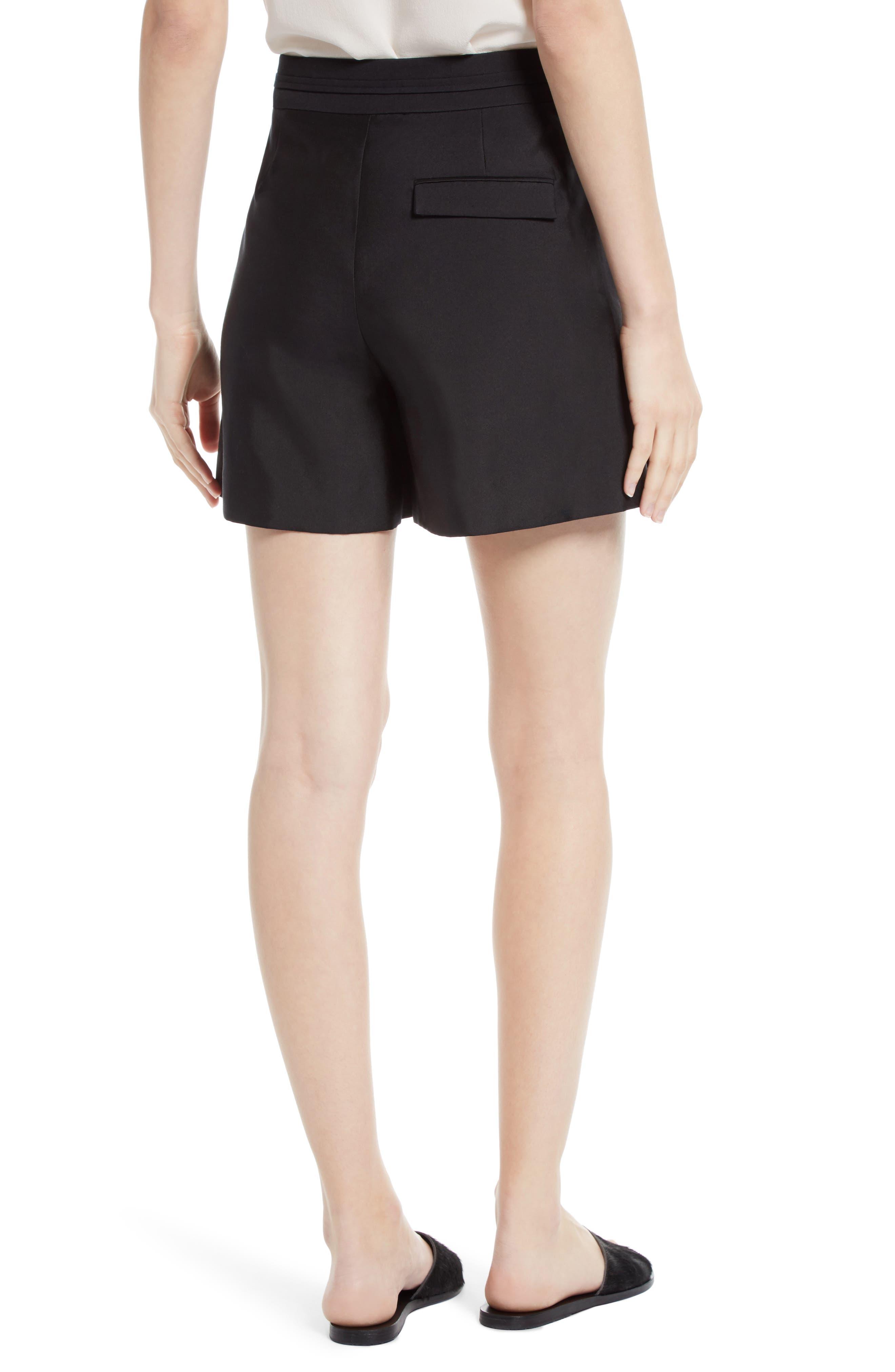 Alternate Image 2  - GREY Jason Wu Belted Wool & Silk Shorts