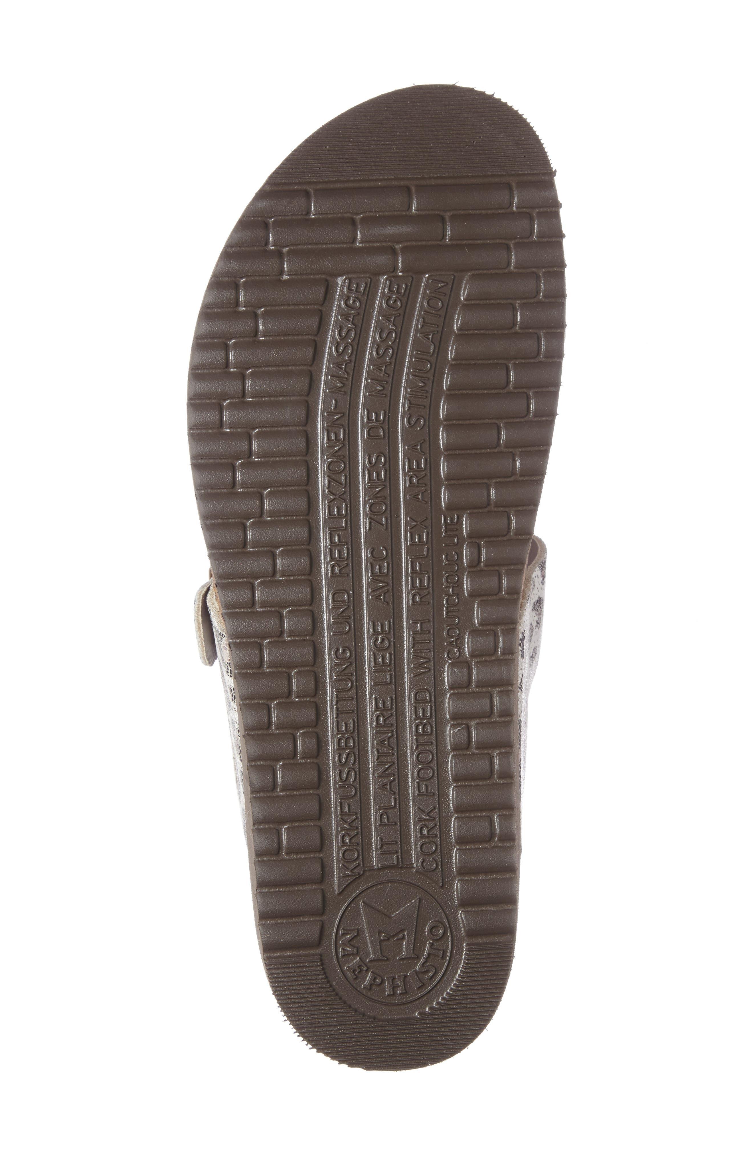 'Helen' Sandal,                             Alternate thumbnail 4, color,                             Light Sand Calfskin Leather