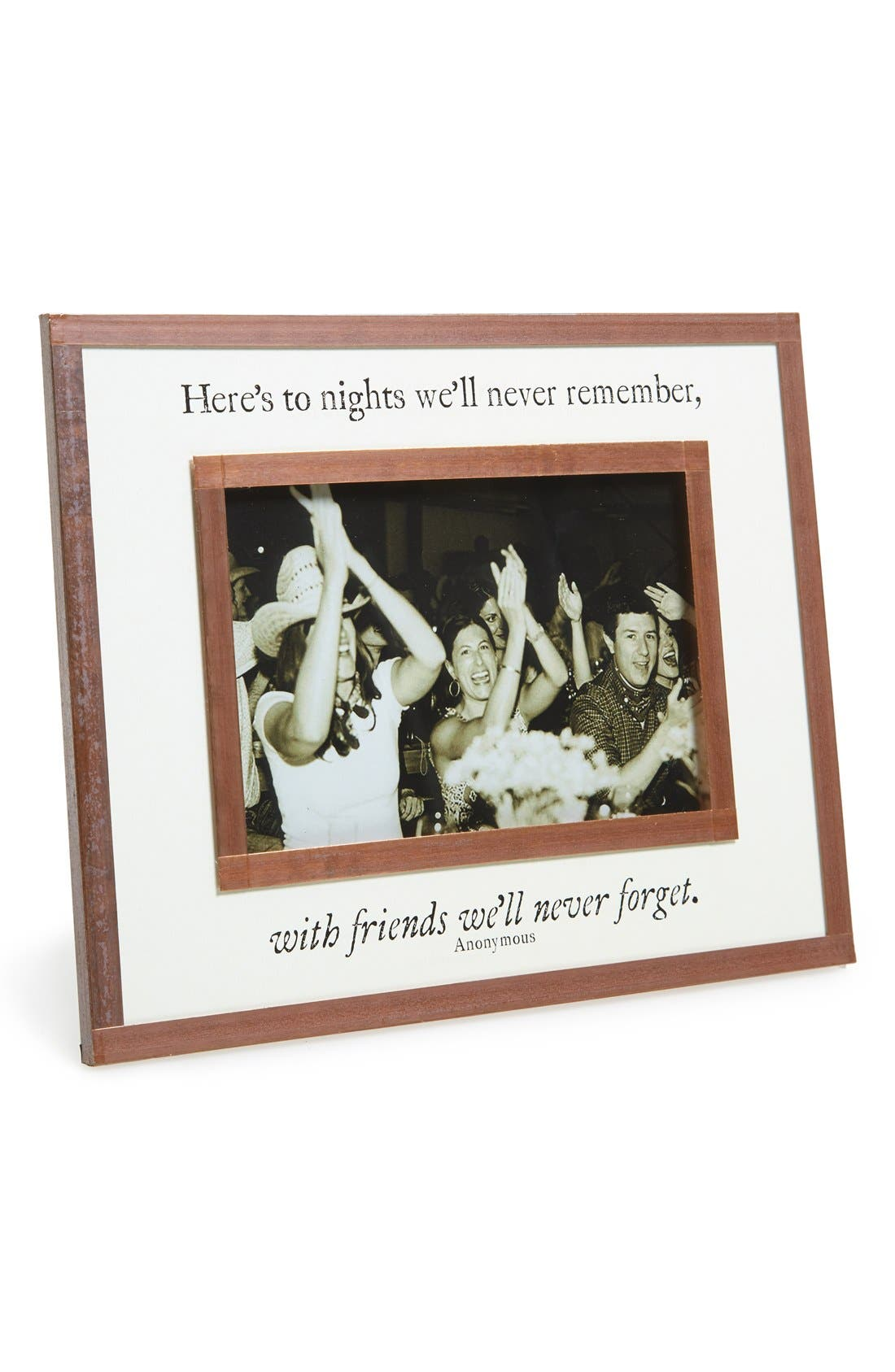 Here's to Nights Picture Frame,                         Main,                         color, White