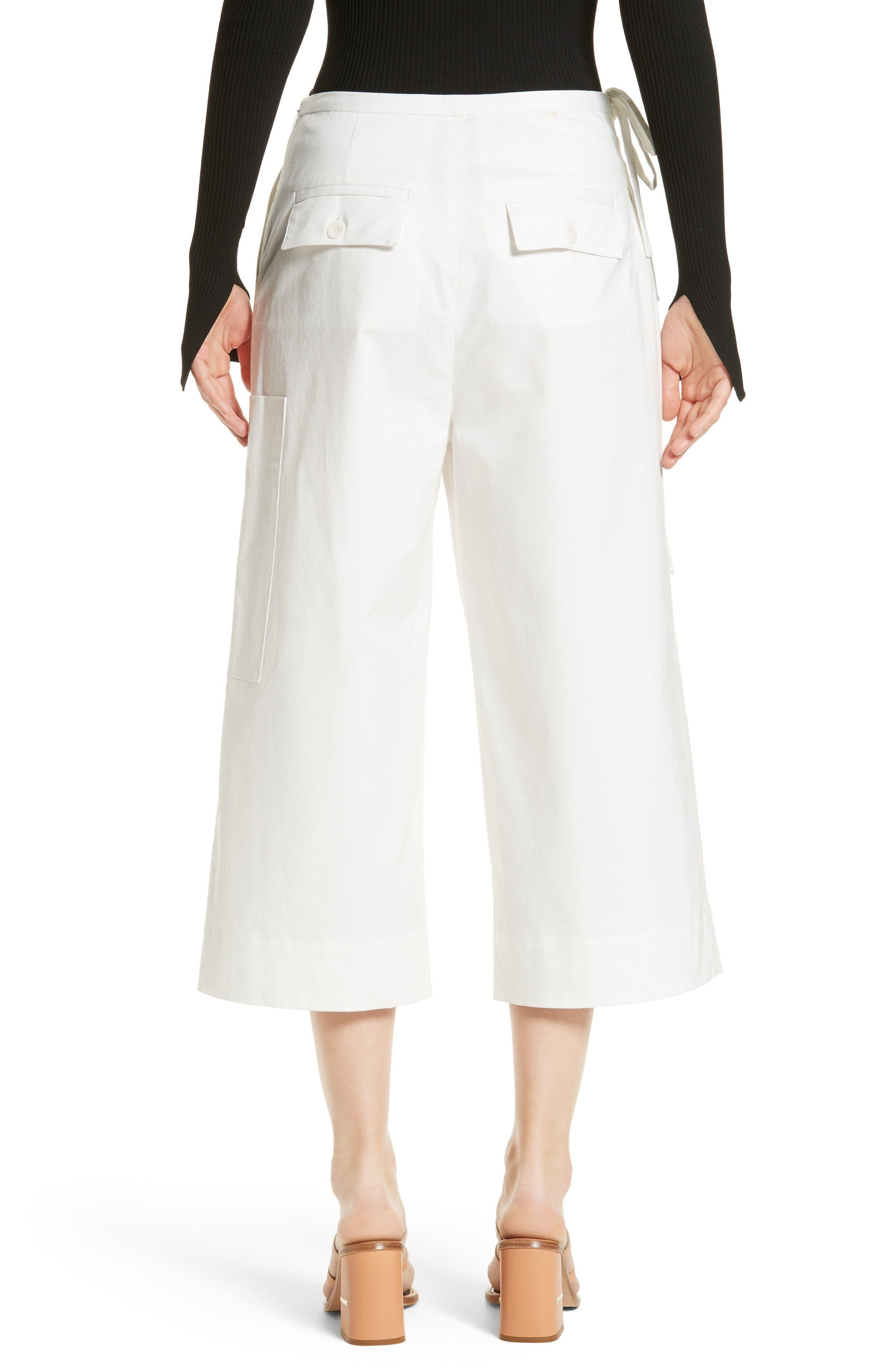 Alternate Image 3  - Tibi Esteban Crop Twill Pants