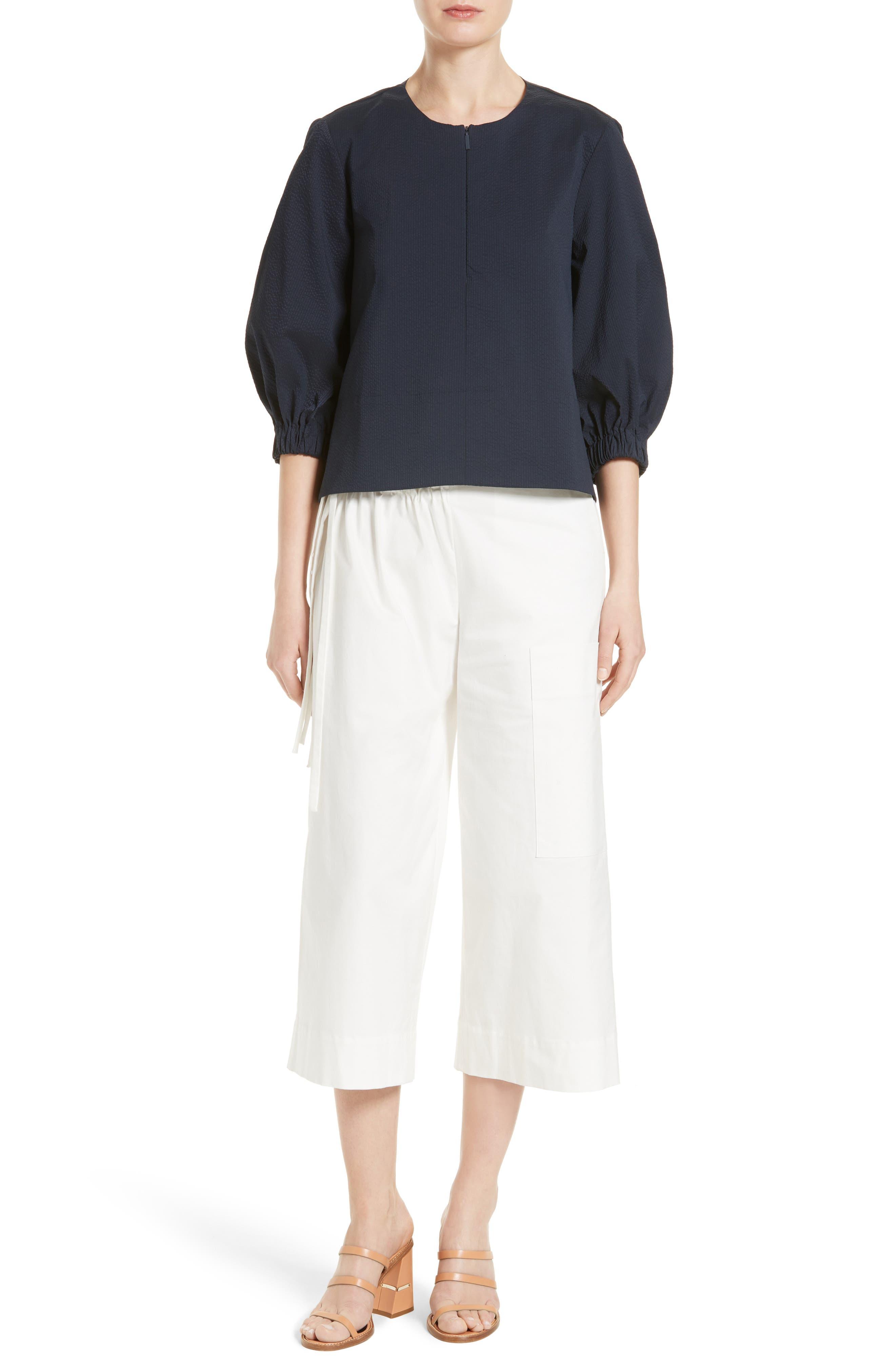 Alternate Image 2  - Tibi Esteban Crop Twill Pants