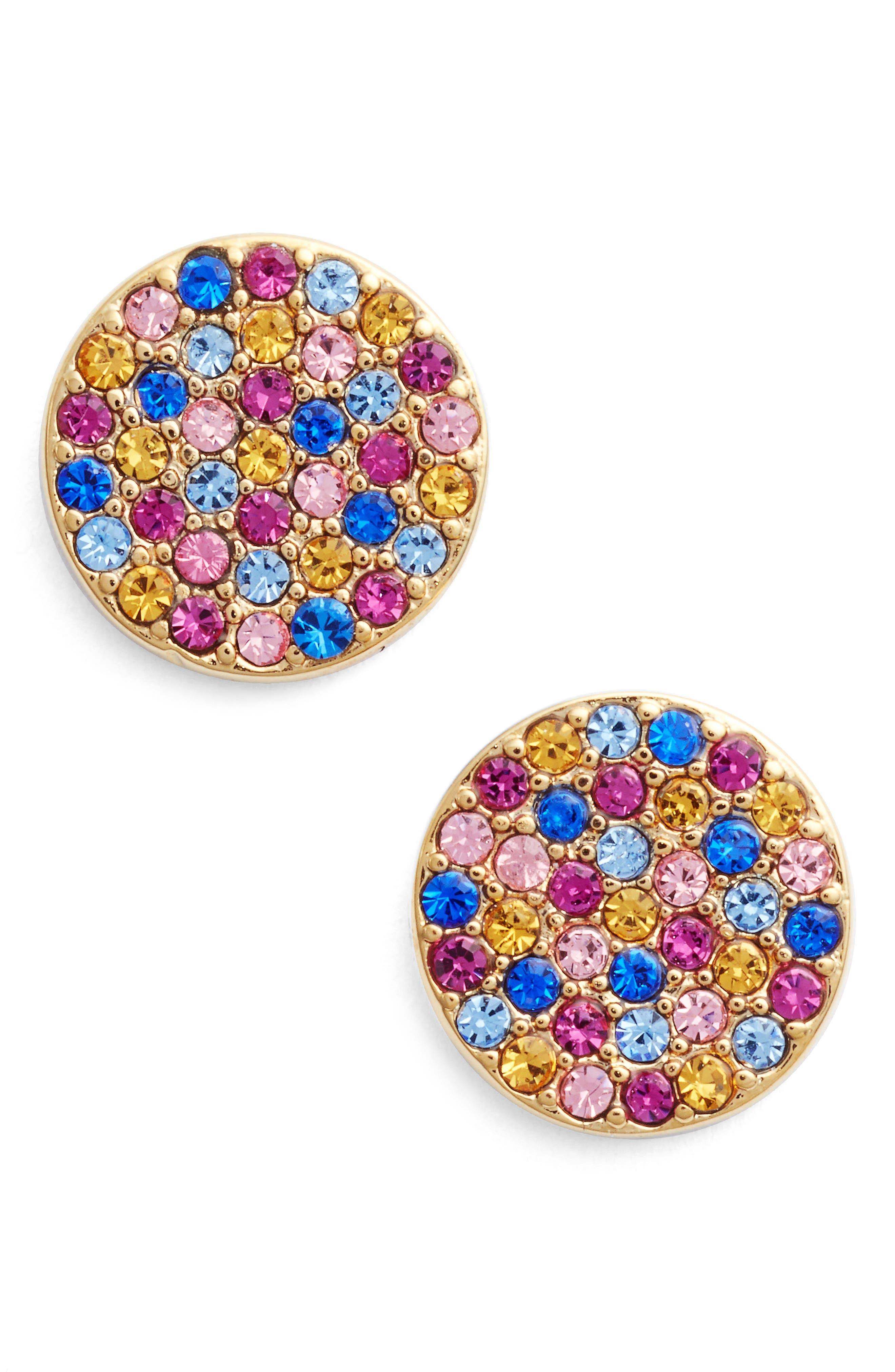 Kate Spade Shine On Stud Earrings, Gold/ Multi