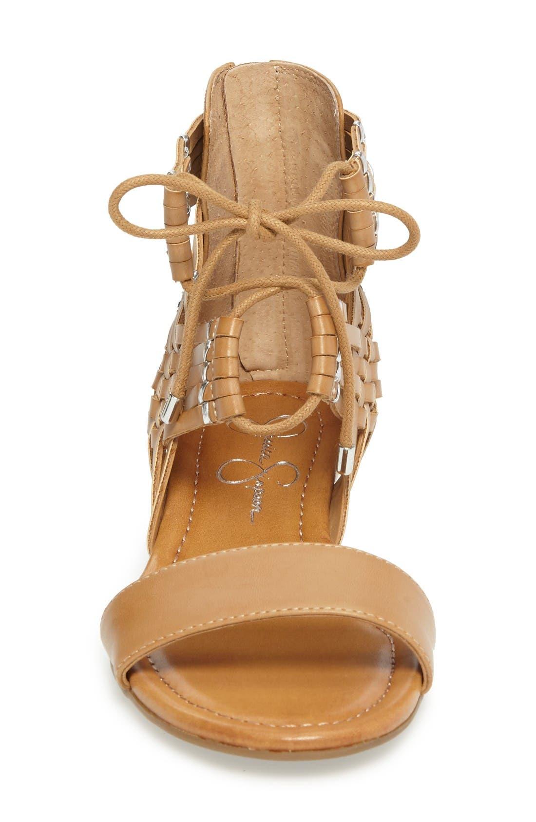 Alternate Image 3  - Jessica Simpson Lourra Woven Sandal (Women)
