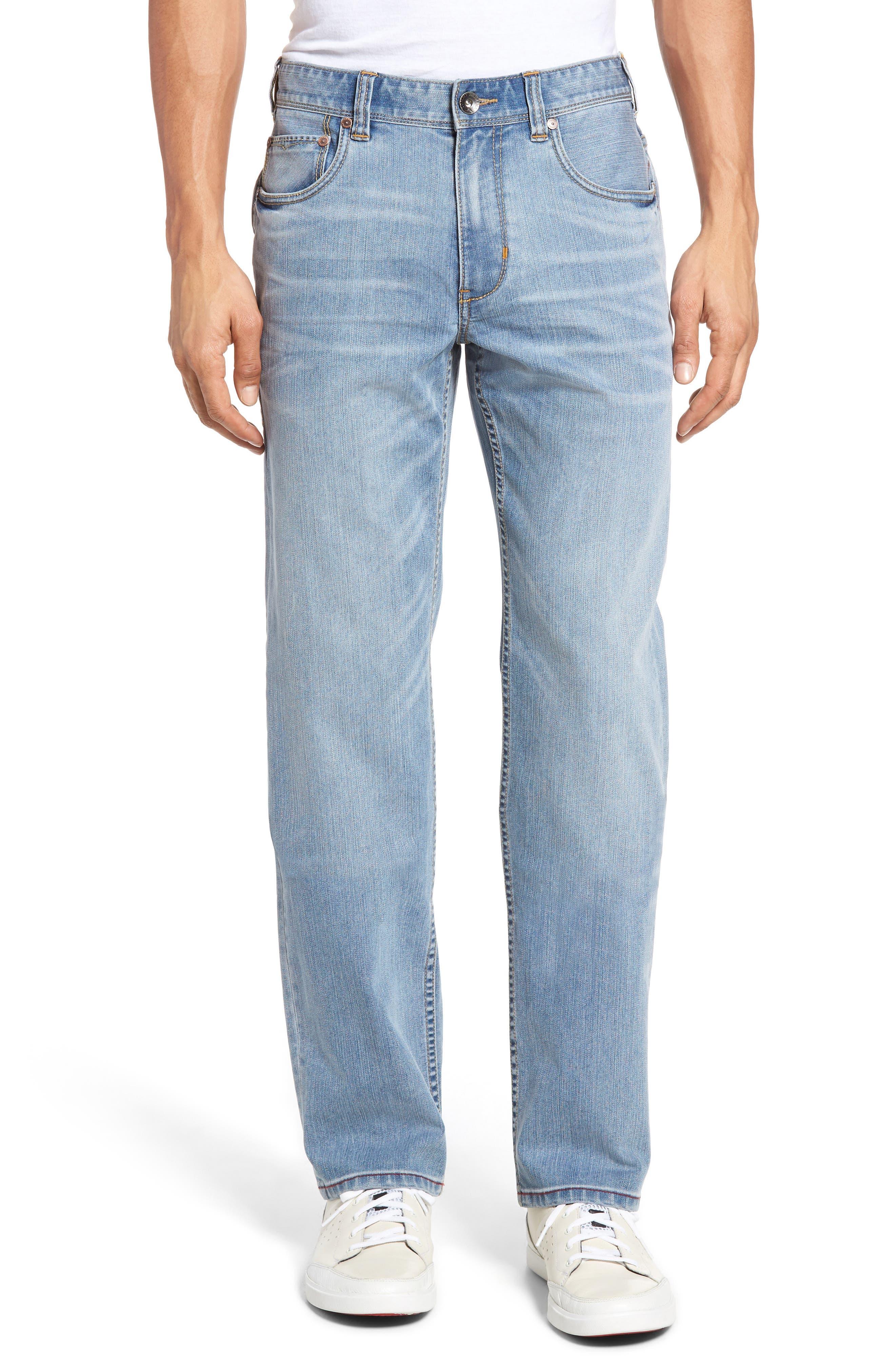 Sorrento Straight Leg Jeans,                             Main thumbnail 1, color,                             Light Wash