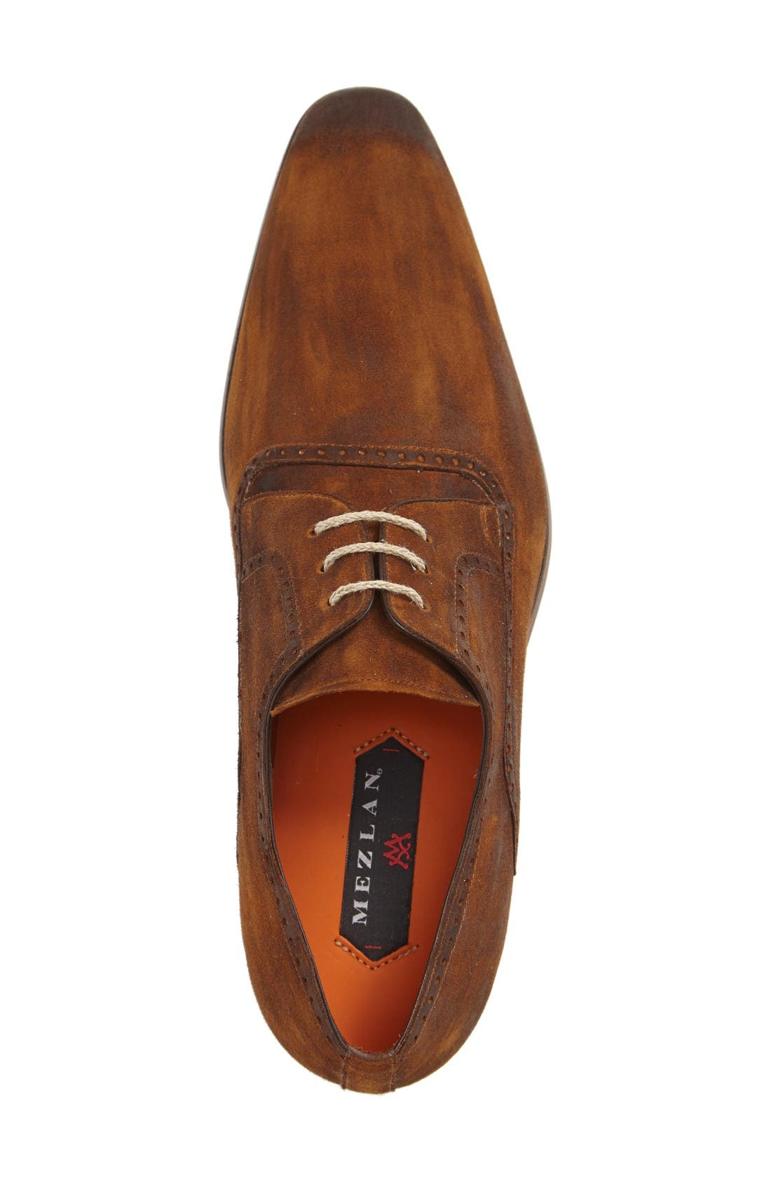 Euclid Plain Toe Derby,                             Alternate thumbnail 3, color,                             Tan Suede
