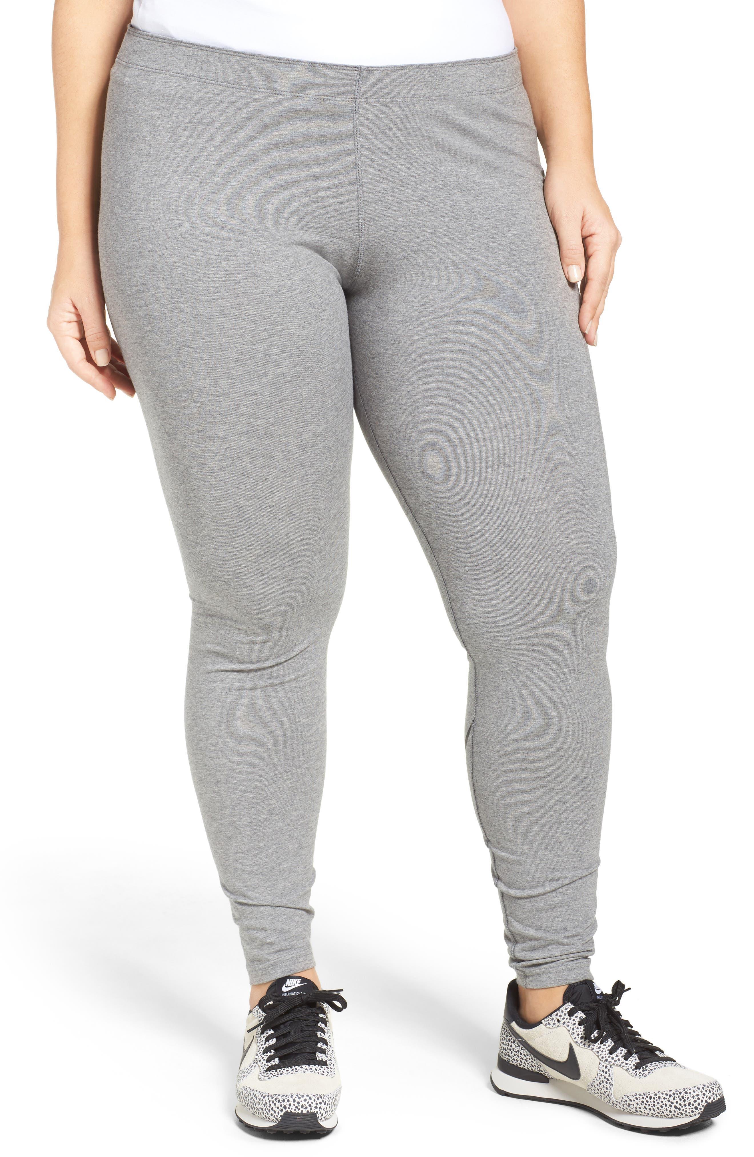 Alternate Image 1 Selected - Nike Leggings (Plus Size)
