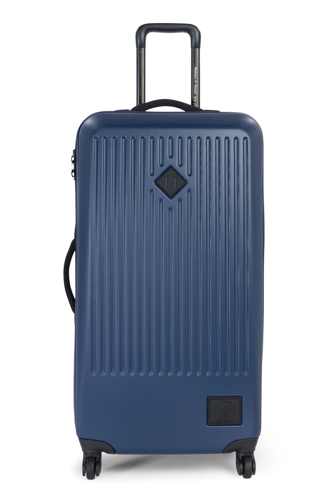 Trade Large Wheeled Packing Case,                             Main thumbnail 1, color,                             Navy