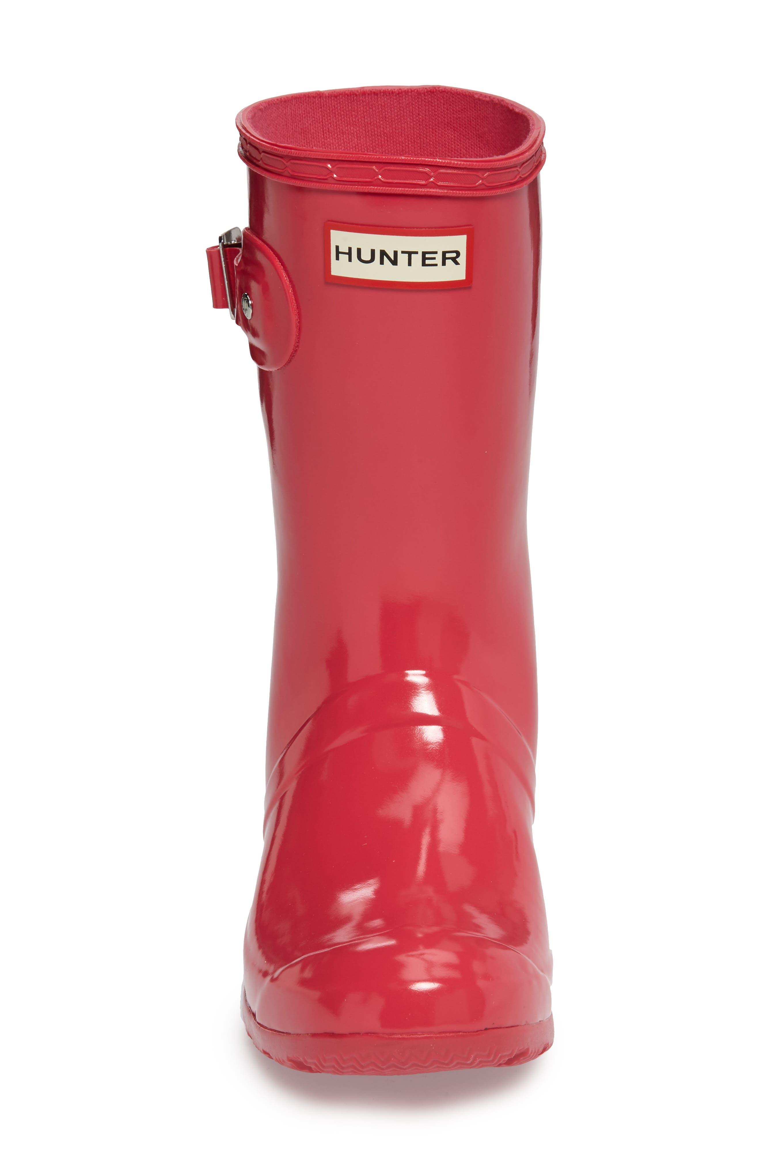 Alternate Image 3  - Hunter Original Tour Short Gloss Packable Rain Boot (Women)