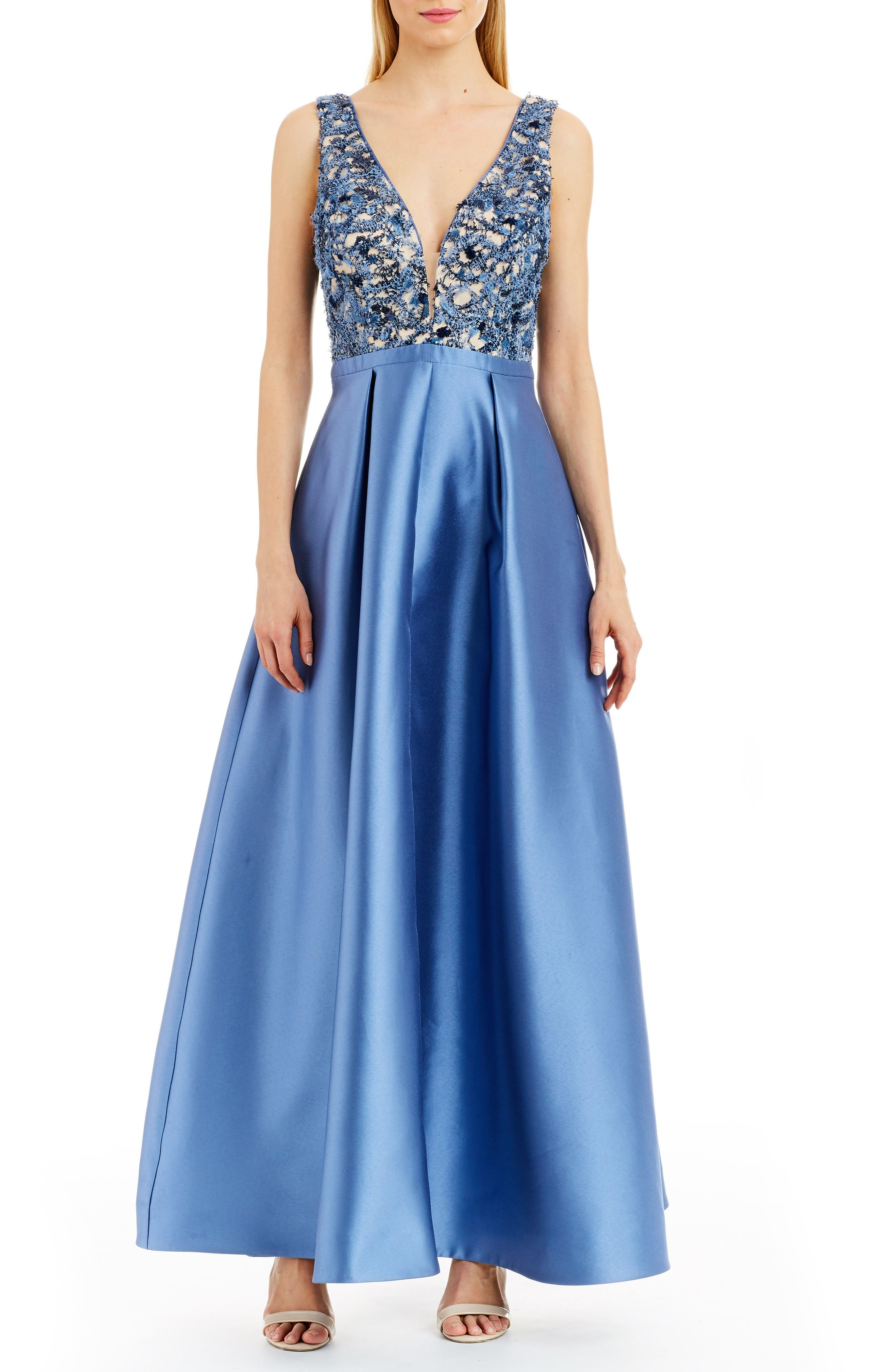 NICOLE MILLER NEW YORK Embellished Gown
