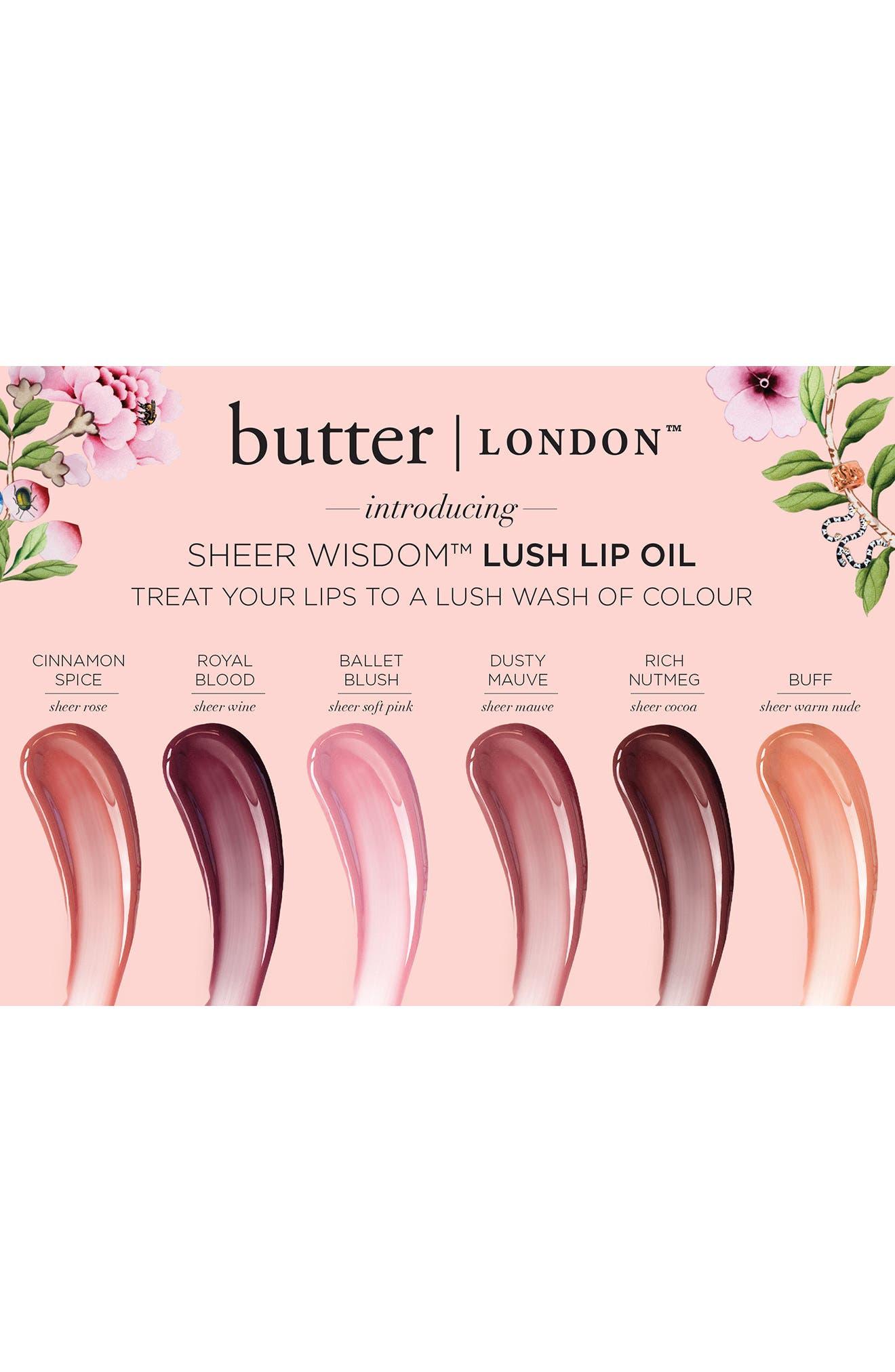 Sheer Wisdom Lip Oil,                             Alternate thumbnail 2, color,