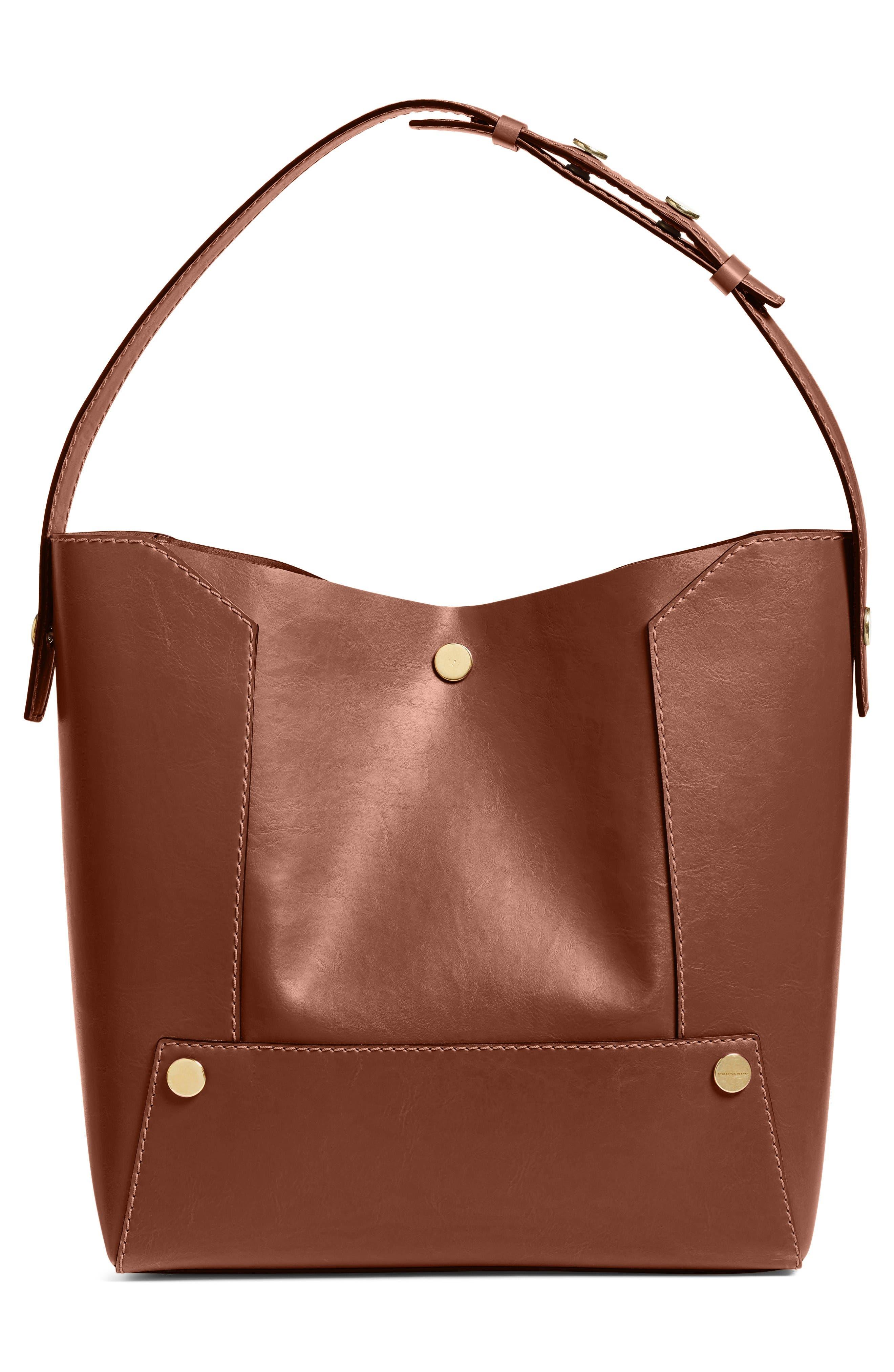 Alternate Image 2  - Stella McCartney Popper Faux Leather Bucket Bag