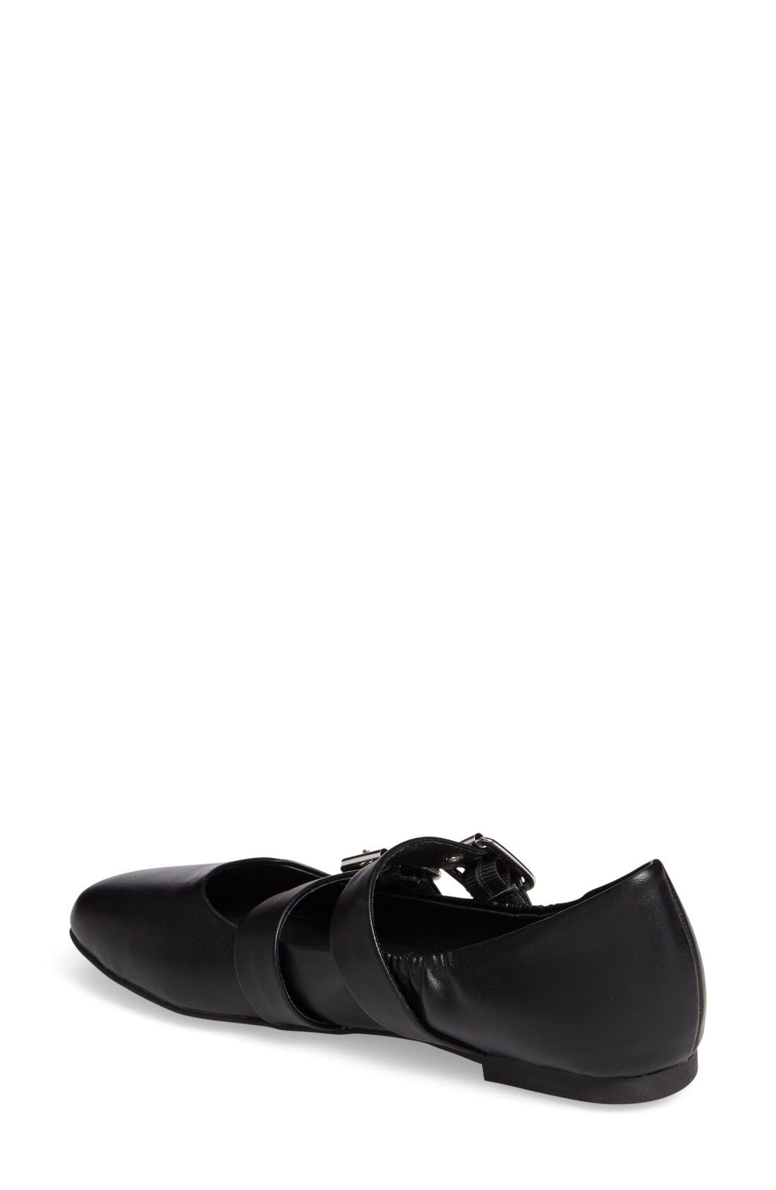 Alternate Image 2  - Steve Madden Spirits Buckle Flat (Women)
