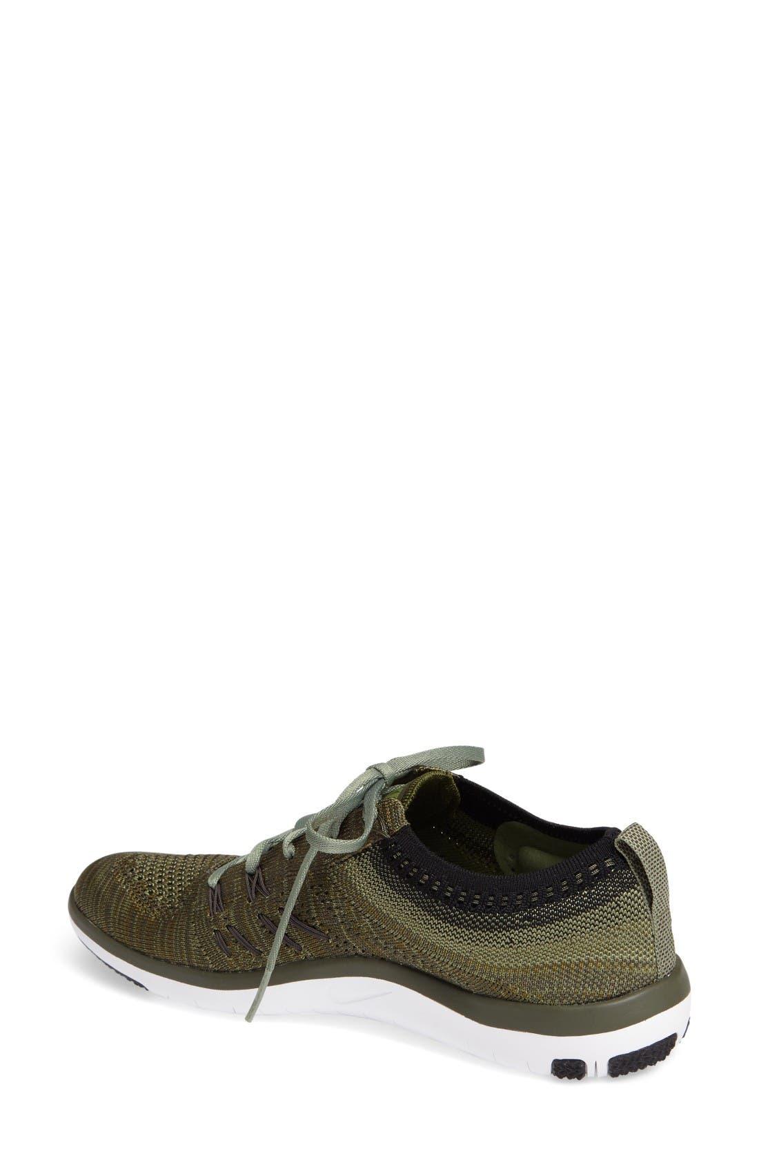 Alternate Image 2  - Nike 'Free TR Focus Flyknit' Training Shoe (Women)