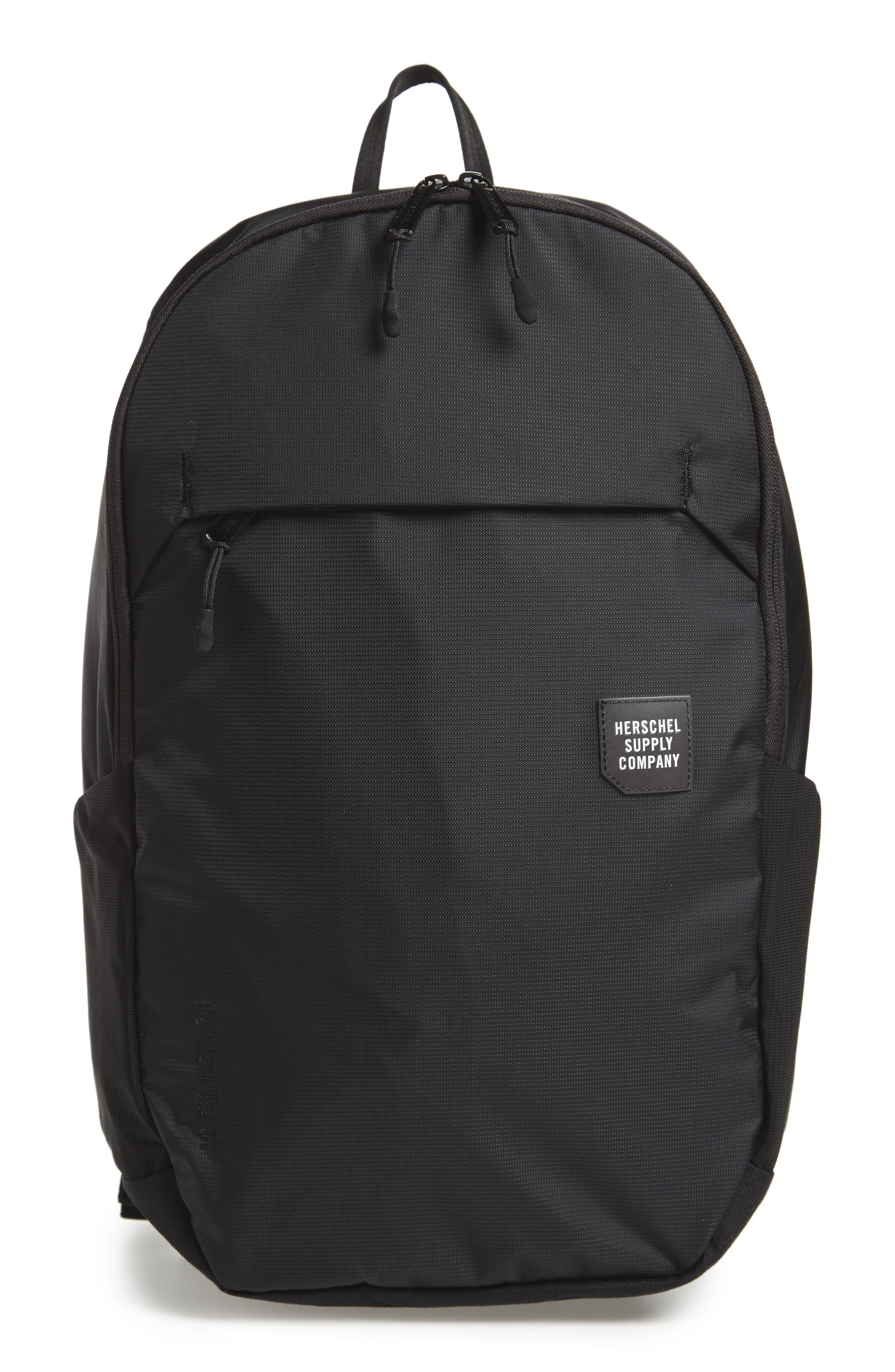 Mammoth Trail Backpack,                             Main thumbnail 1, color,                             Black