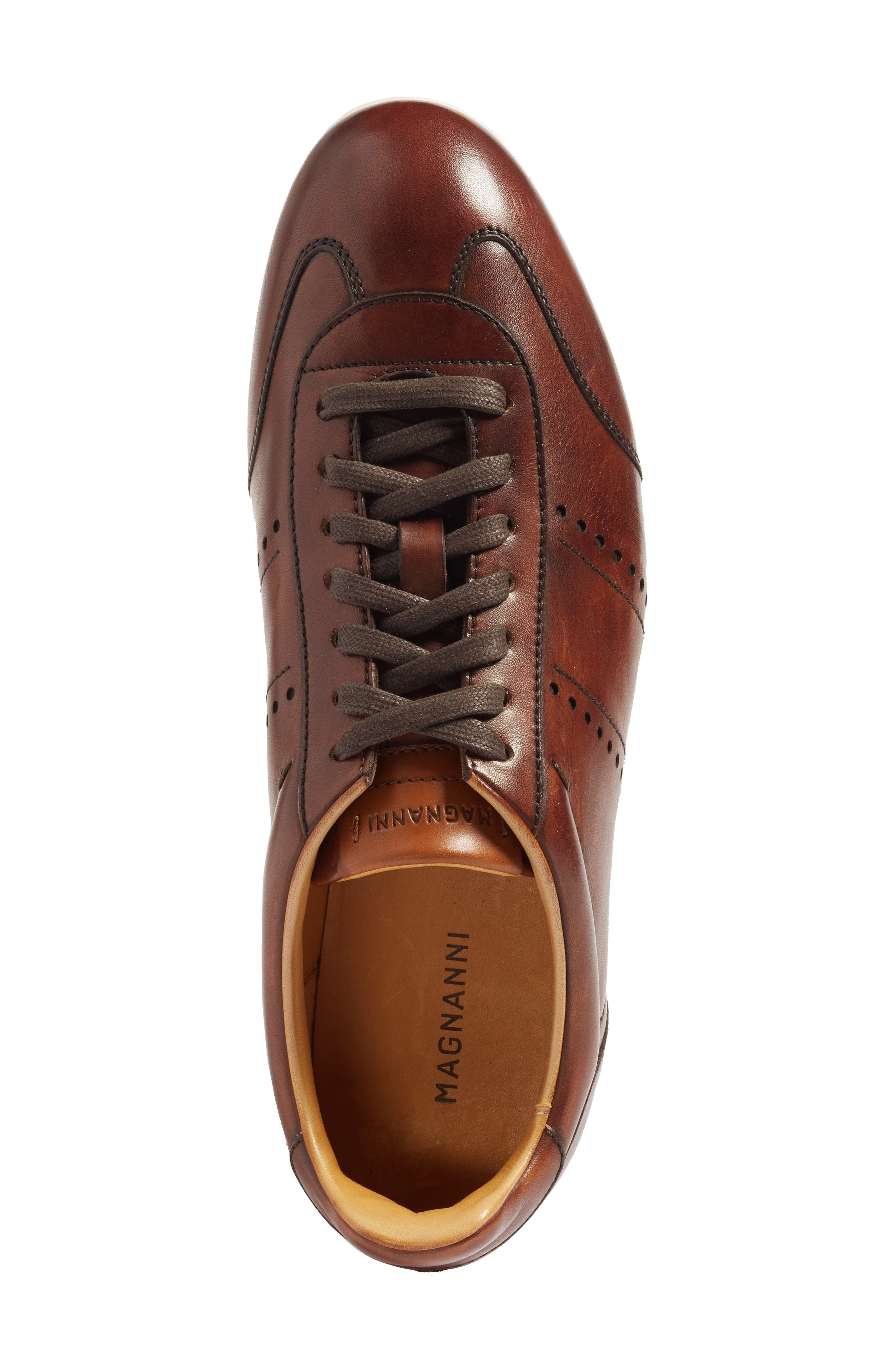 Isco Sneaker,                             Alternate thumbnail 3, color,                             Mid-Brown
