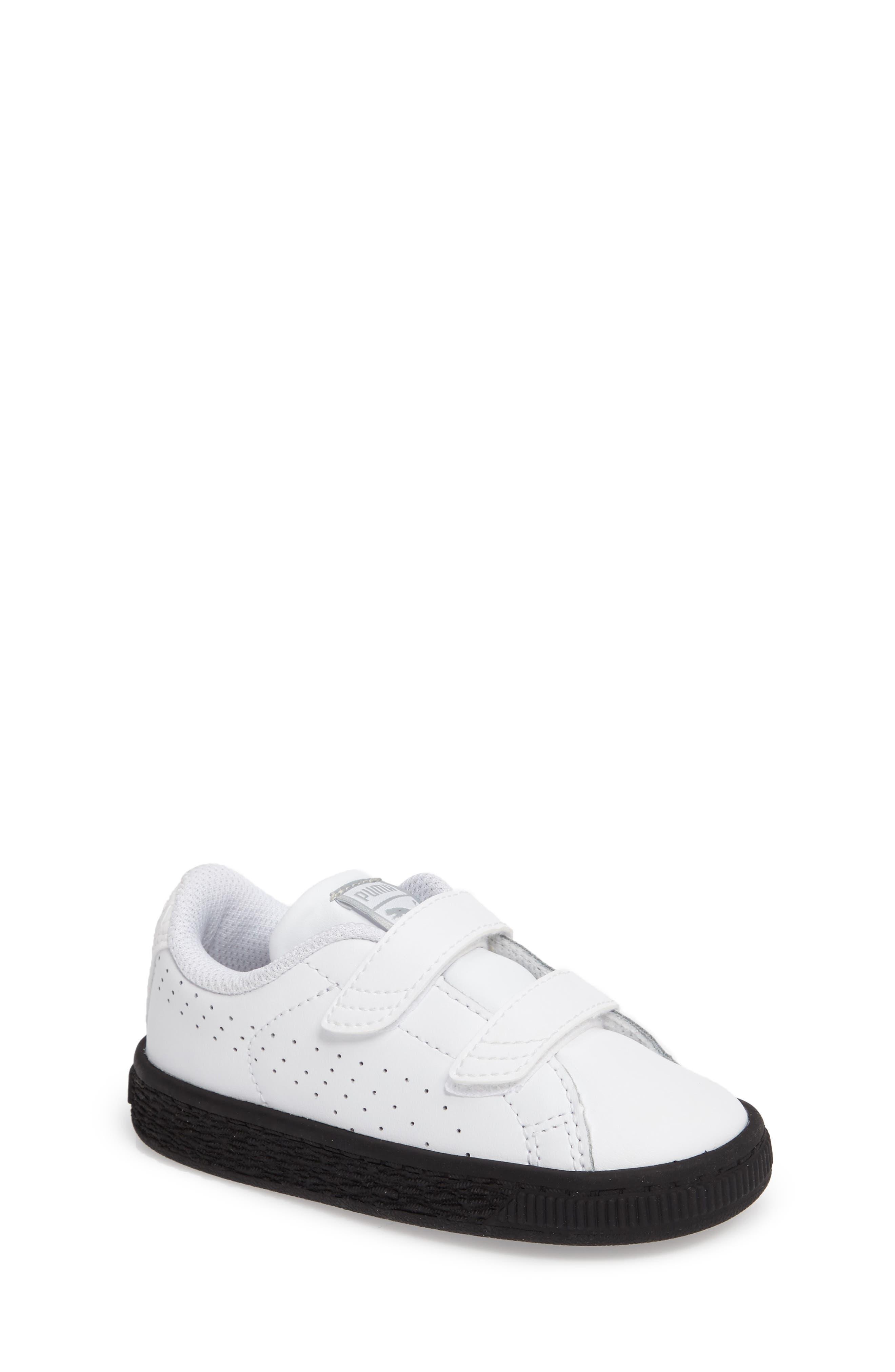 Basket Classic Sneaker,                             Main thumbnail 1, color,                             White