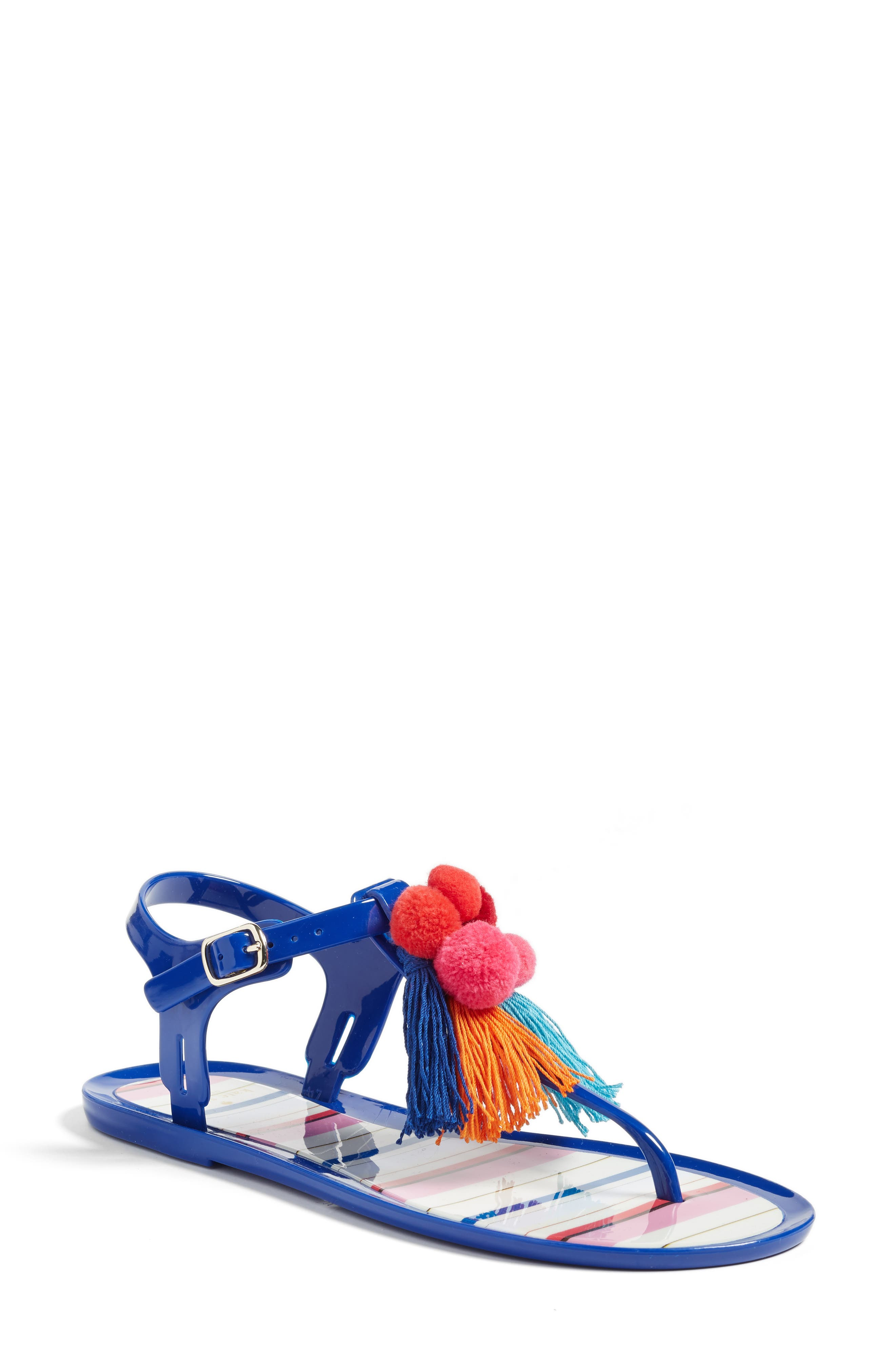 kate spade new york yellowstone t-strap jelly sandal (Women)