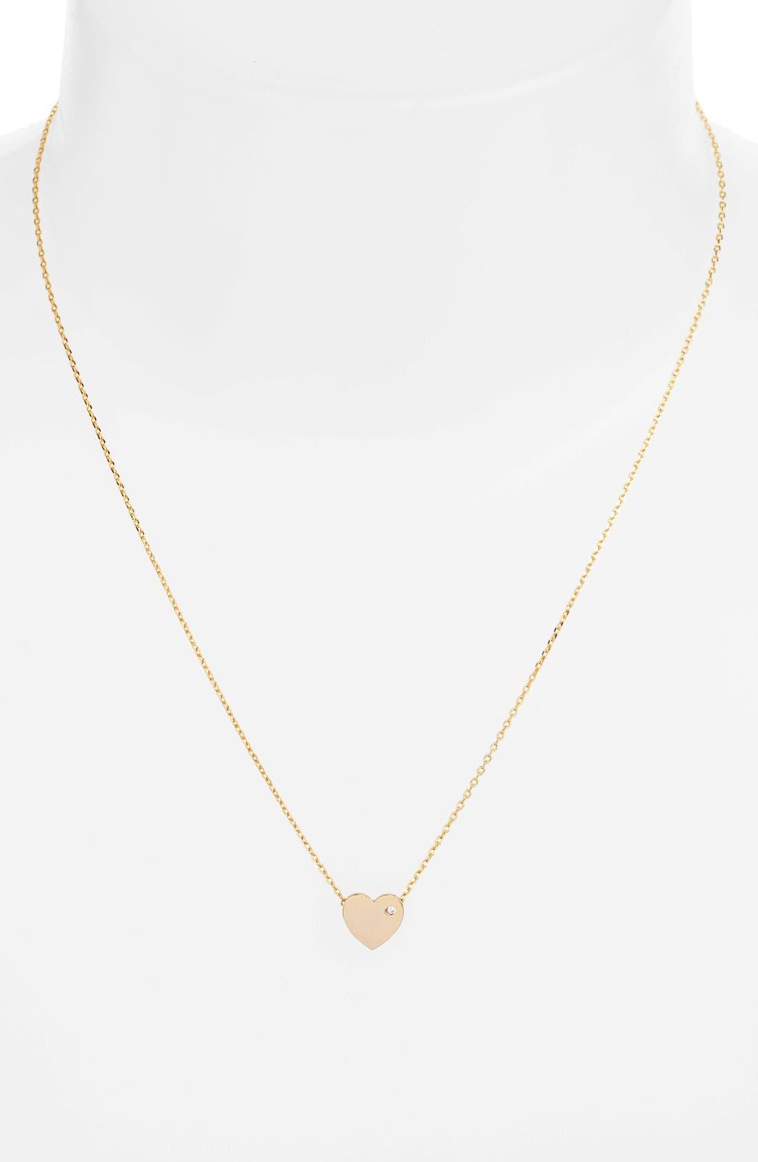 Alternate Image 2  - Estella Bartlett Shine Bright Heart Necklace