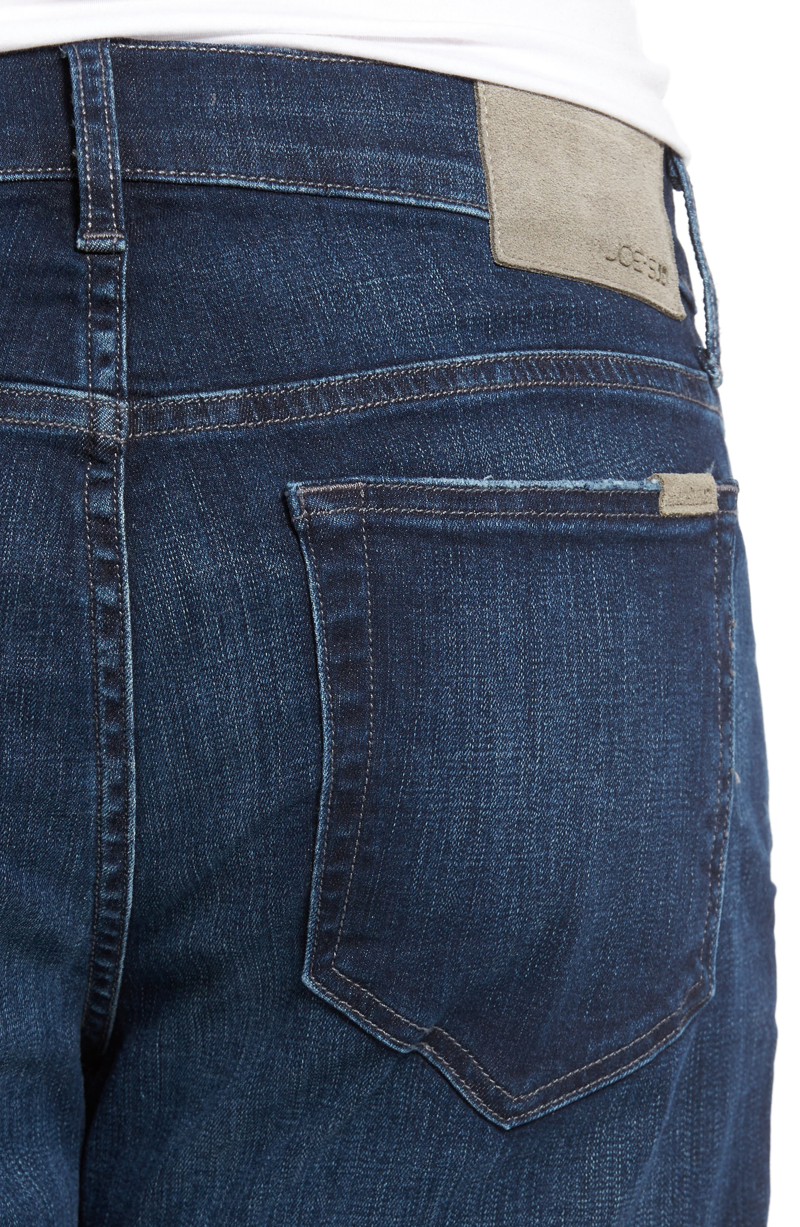 Brixton Kinetic Slim Straight Leg Jeans,                             Alternate thumbnail 4, color,                             Aedan