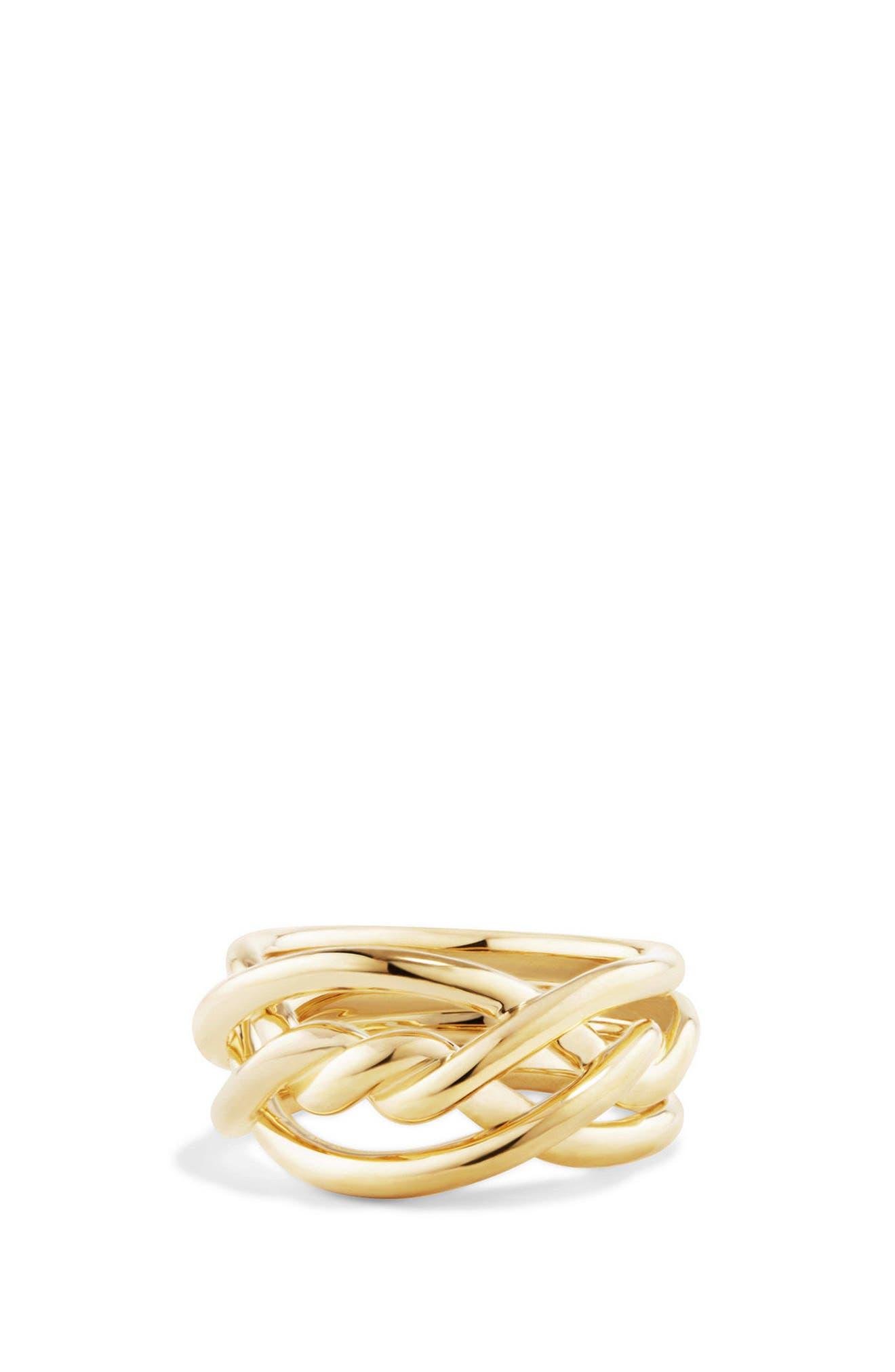Main Image - David Yurman Continuance Ring in 18K Gold