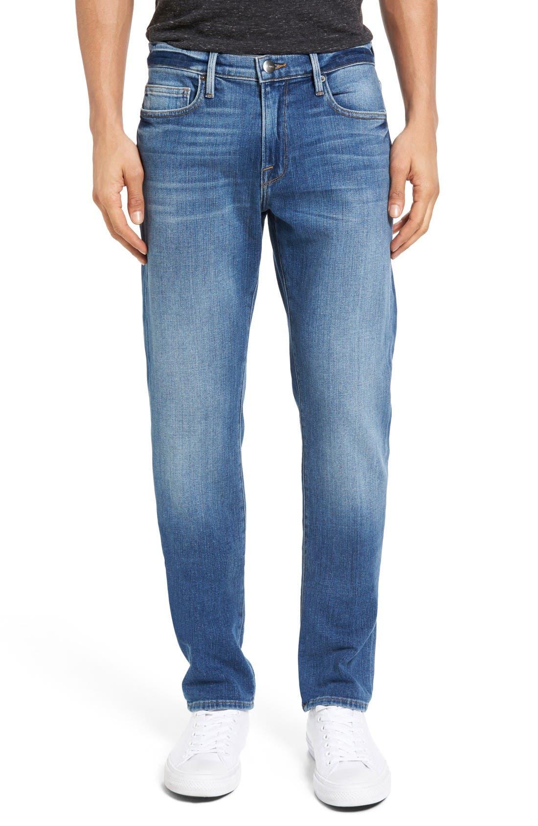 L'Homme Slim Fit Jeans,                             Main thumbnail 1, color,                             Palo Alto