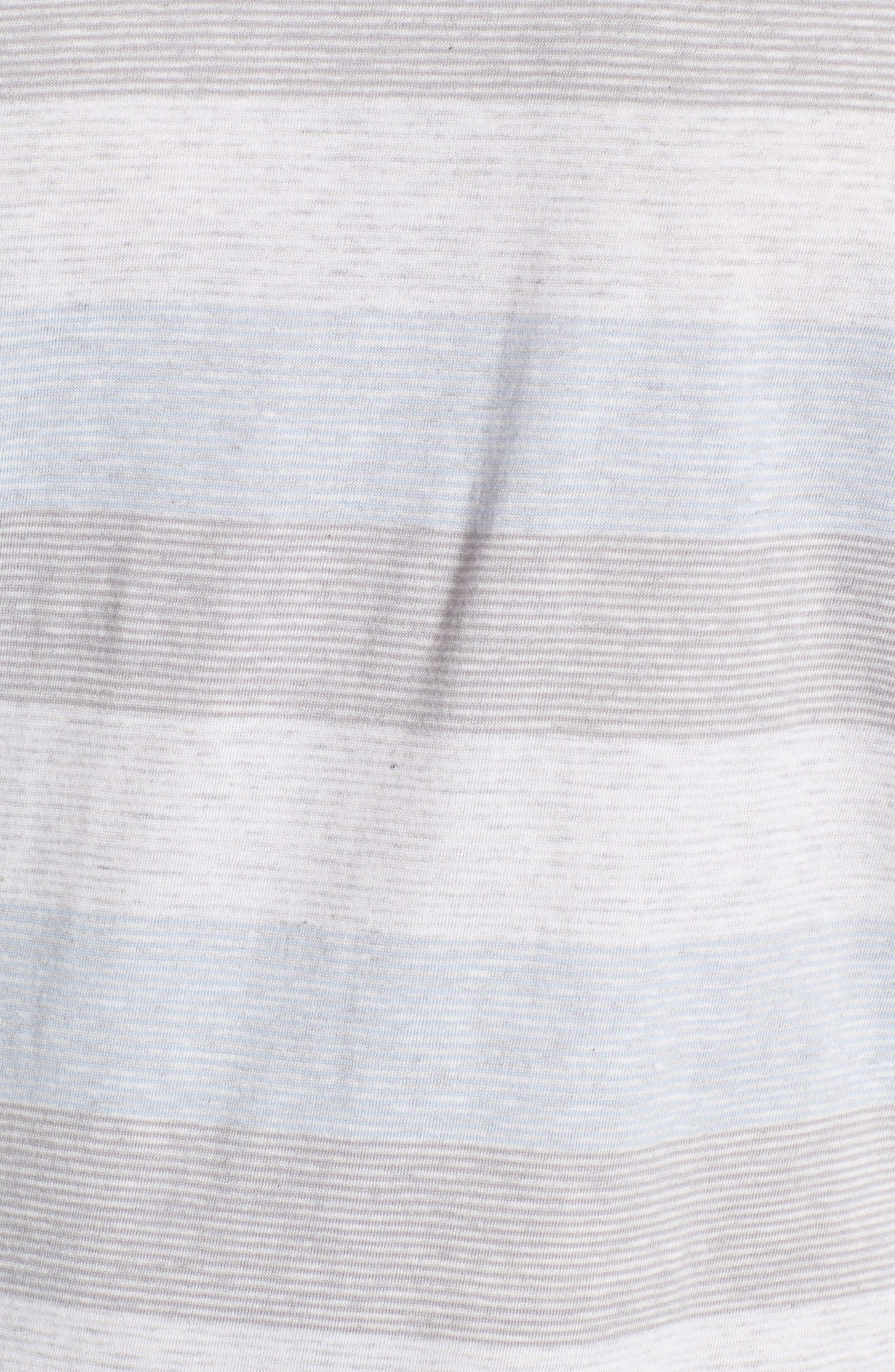 Bose Stripe T-Shirt,                             Alternate thumbnail 5, color,                             Kentucky Blue